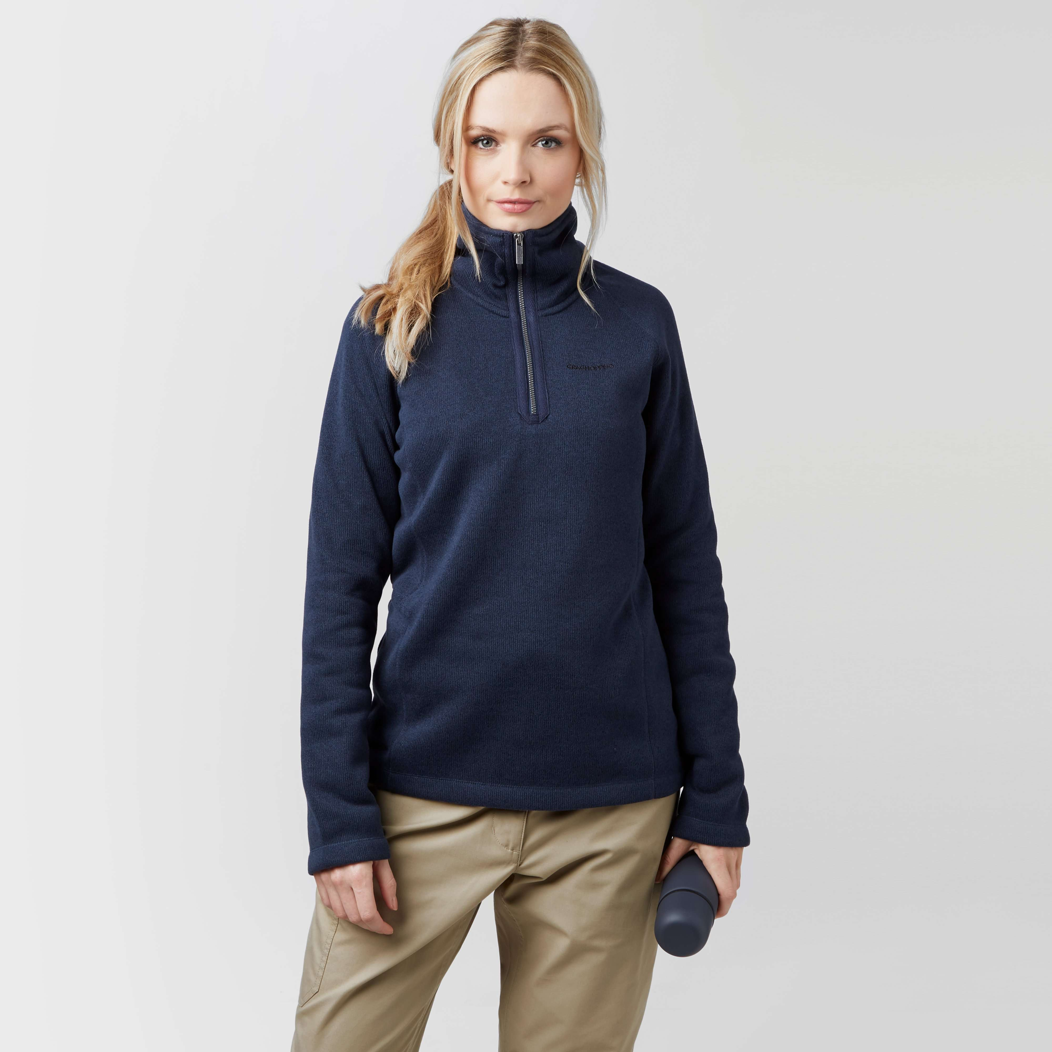 CRAGHOPPERS Women's Keris Half-Zip Fleece