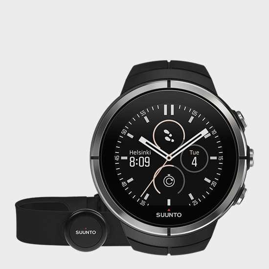 SUUNTO Spartan Ultra Black (HR) GPS Watch