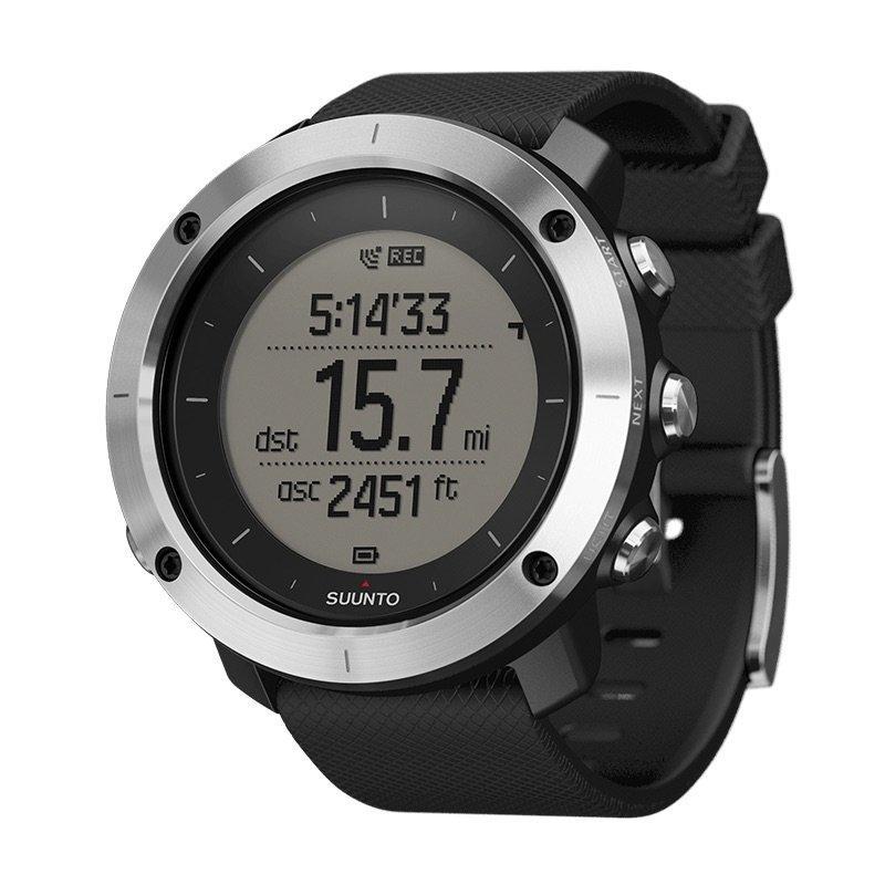 Suunto Traverse Black GPS Watch  Black Black