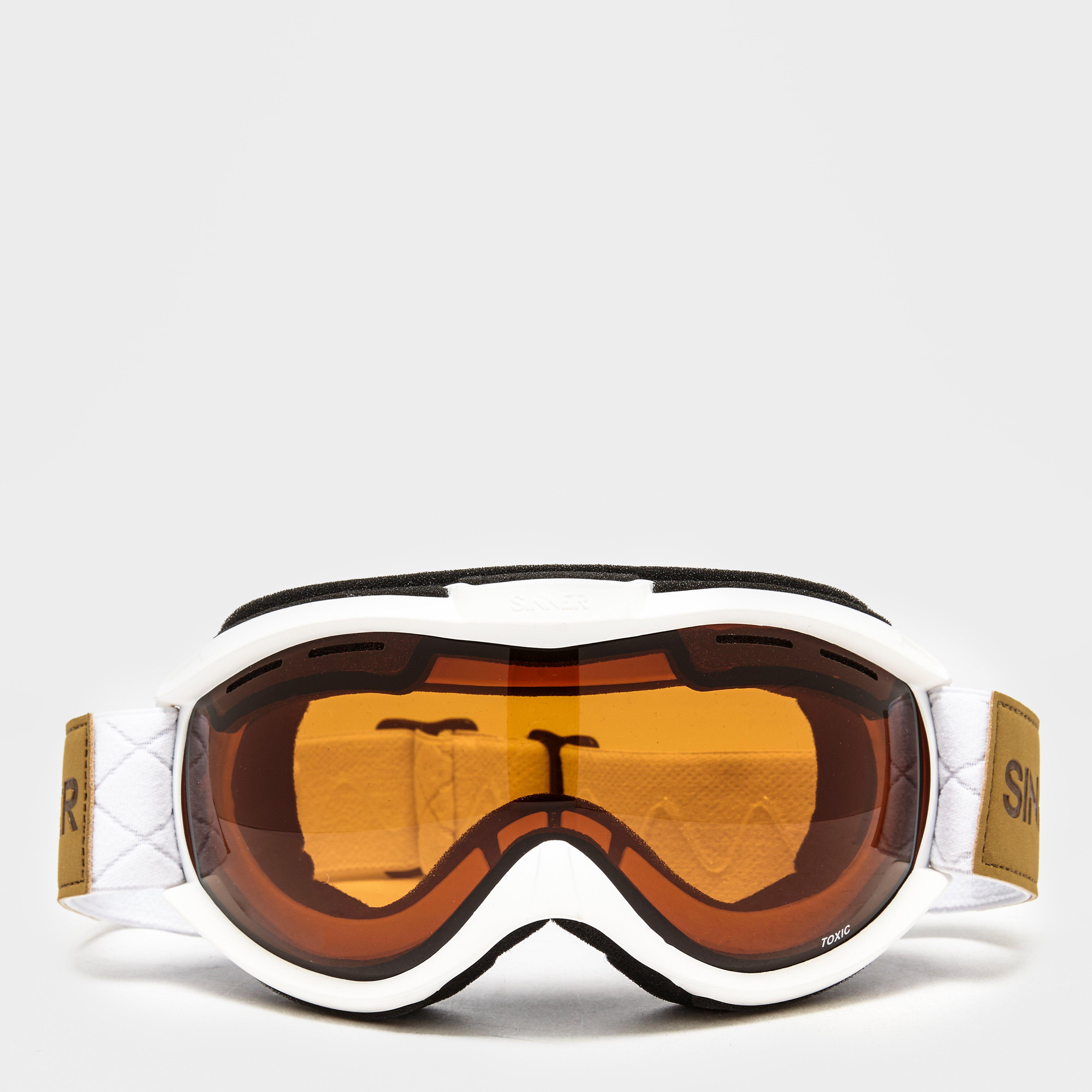 Ski Goggles Orange