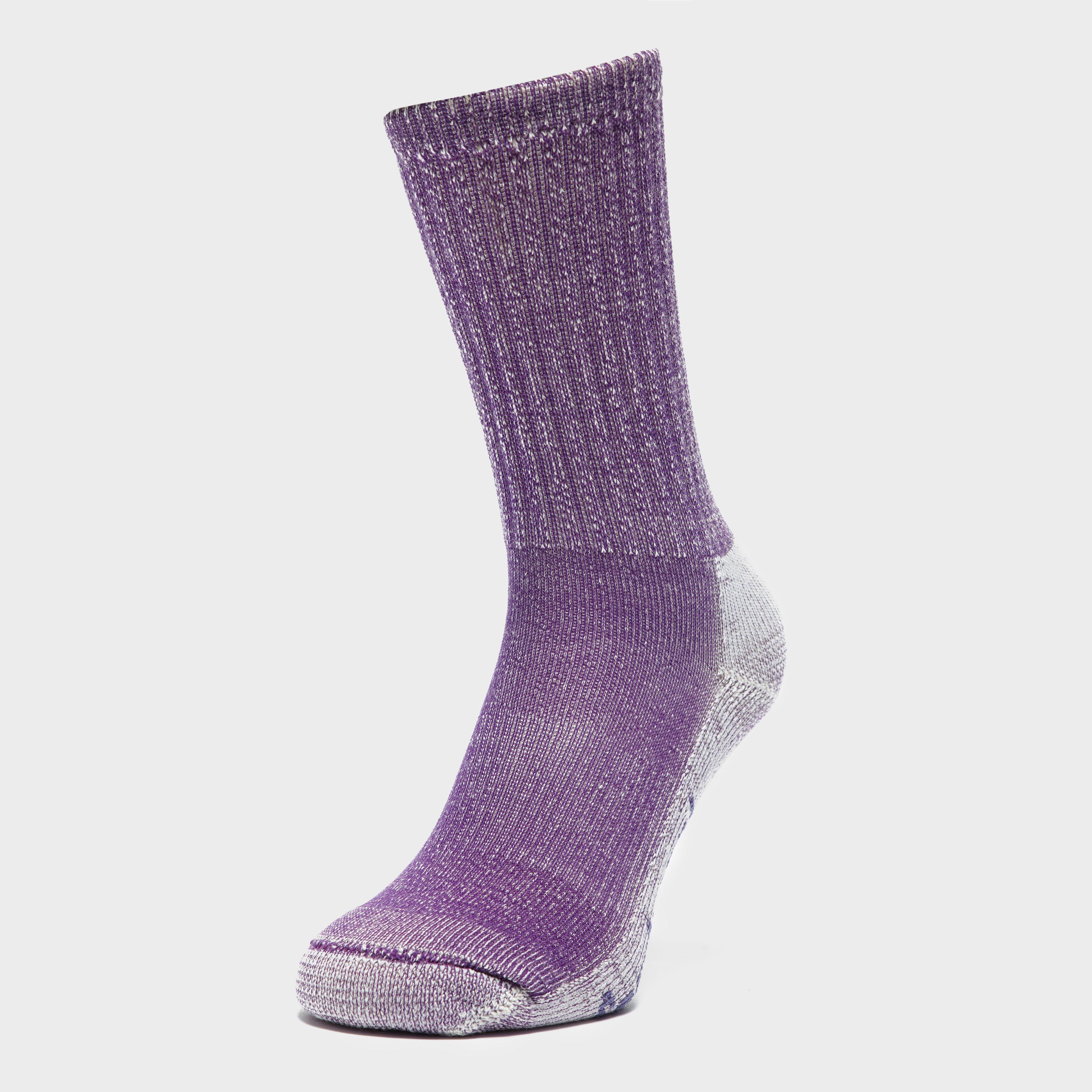Smartwool Women's Hike Light Crew Socks, Purple