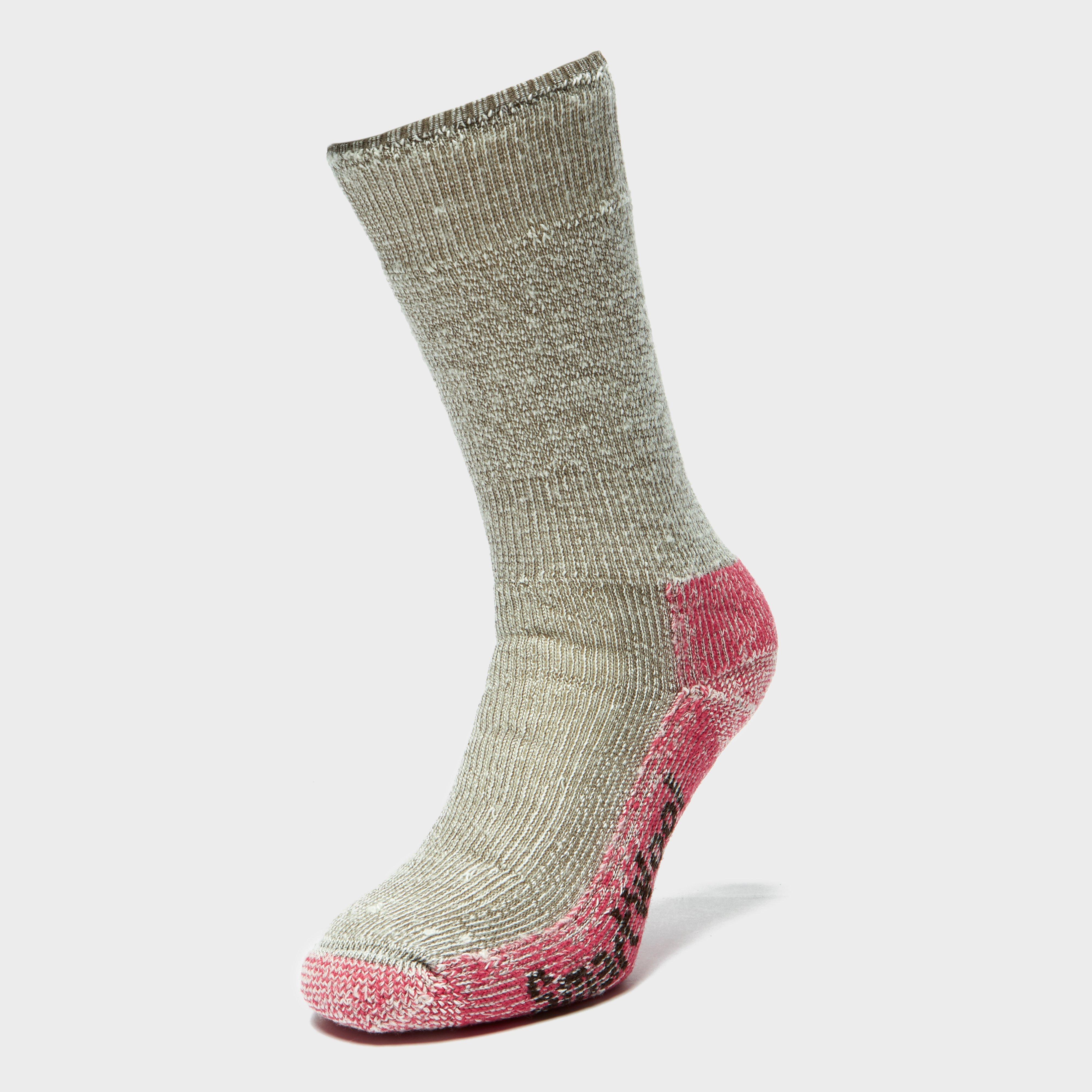 Smartwool Women's Mountaineering Extra Heavy Crew Socks, Grey