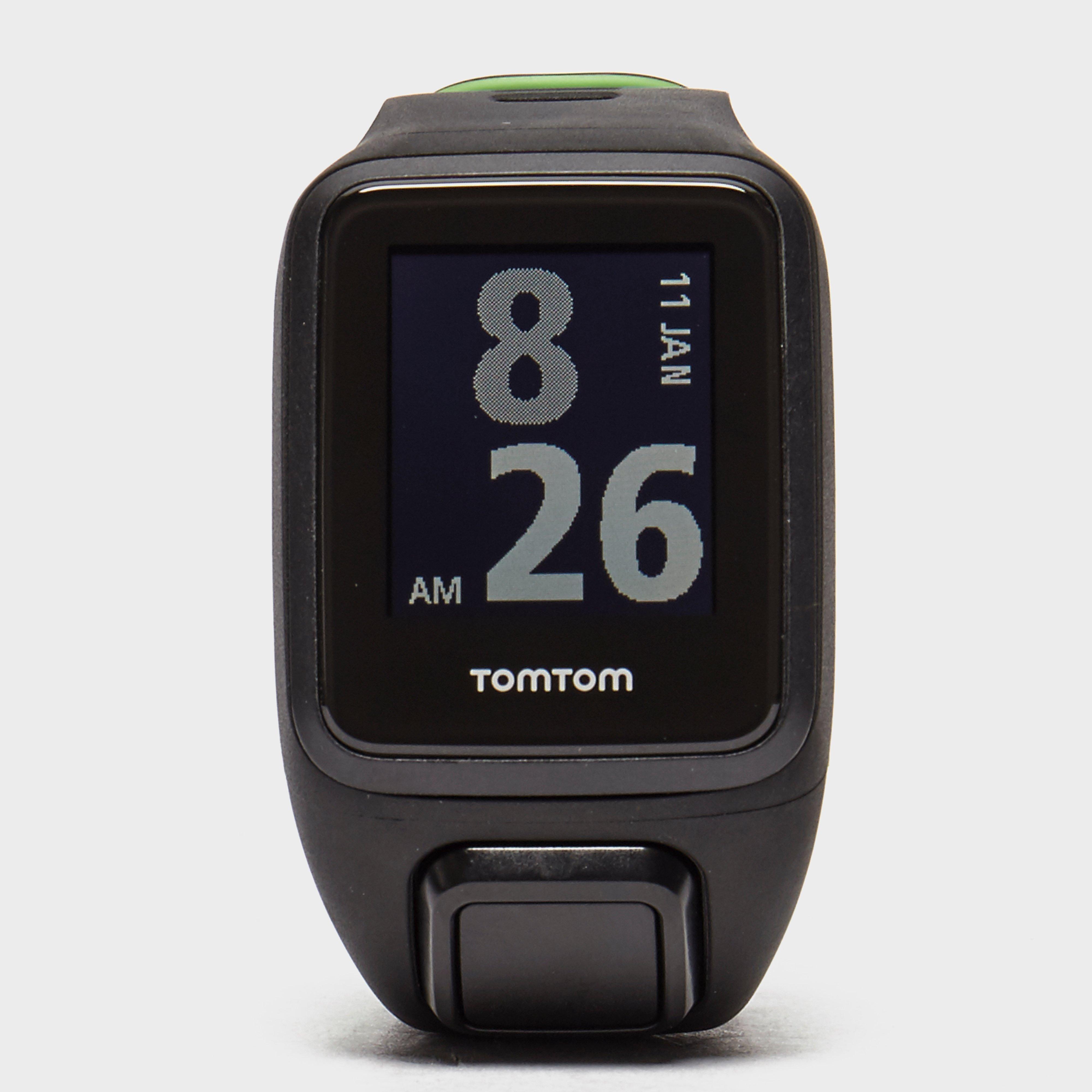 Tom Tom Runner 3 Cardio GPS Runner Watch Black