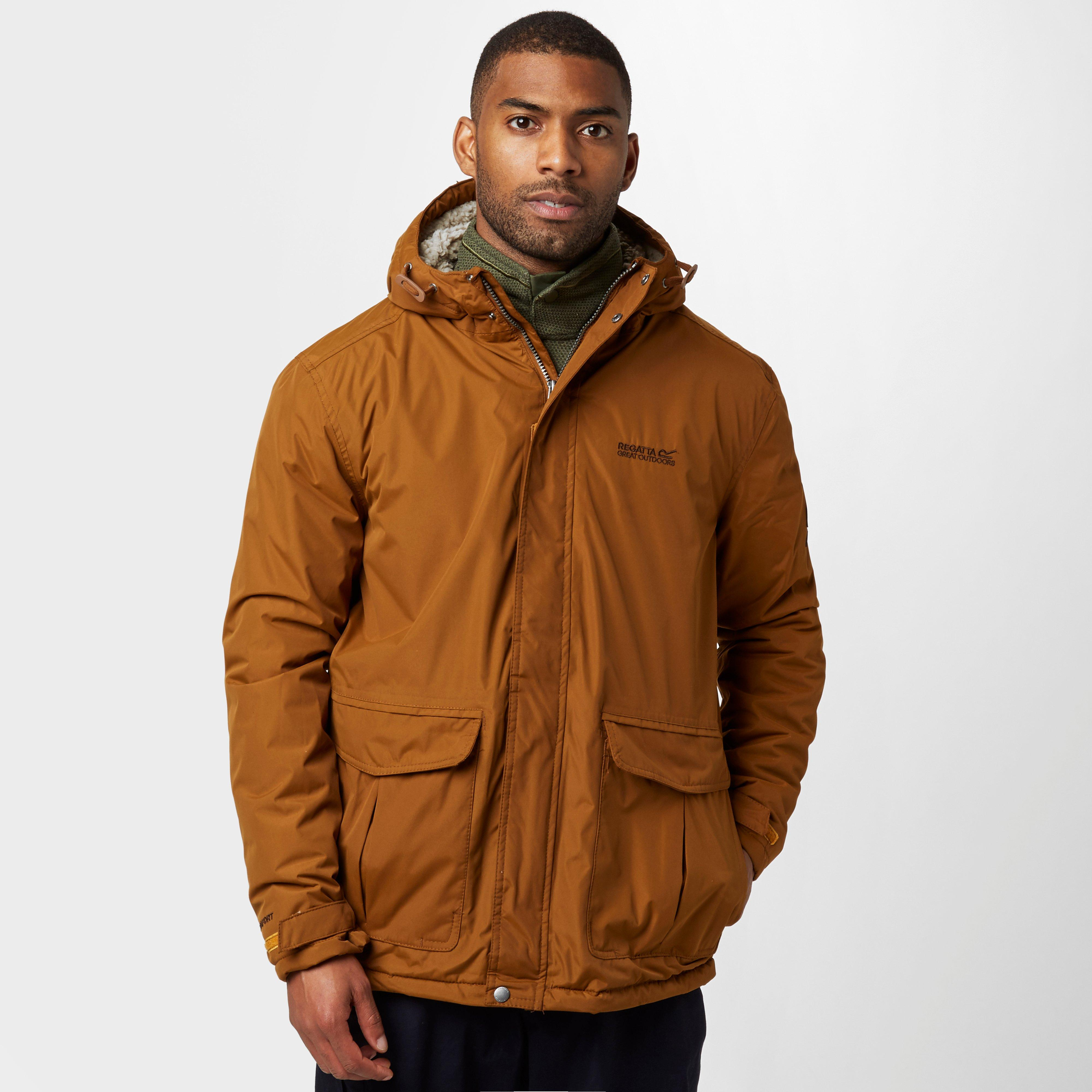 Regatta Mens Sternway Waterproof Jacket Orange