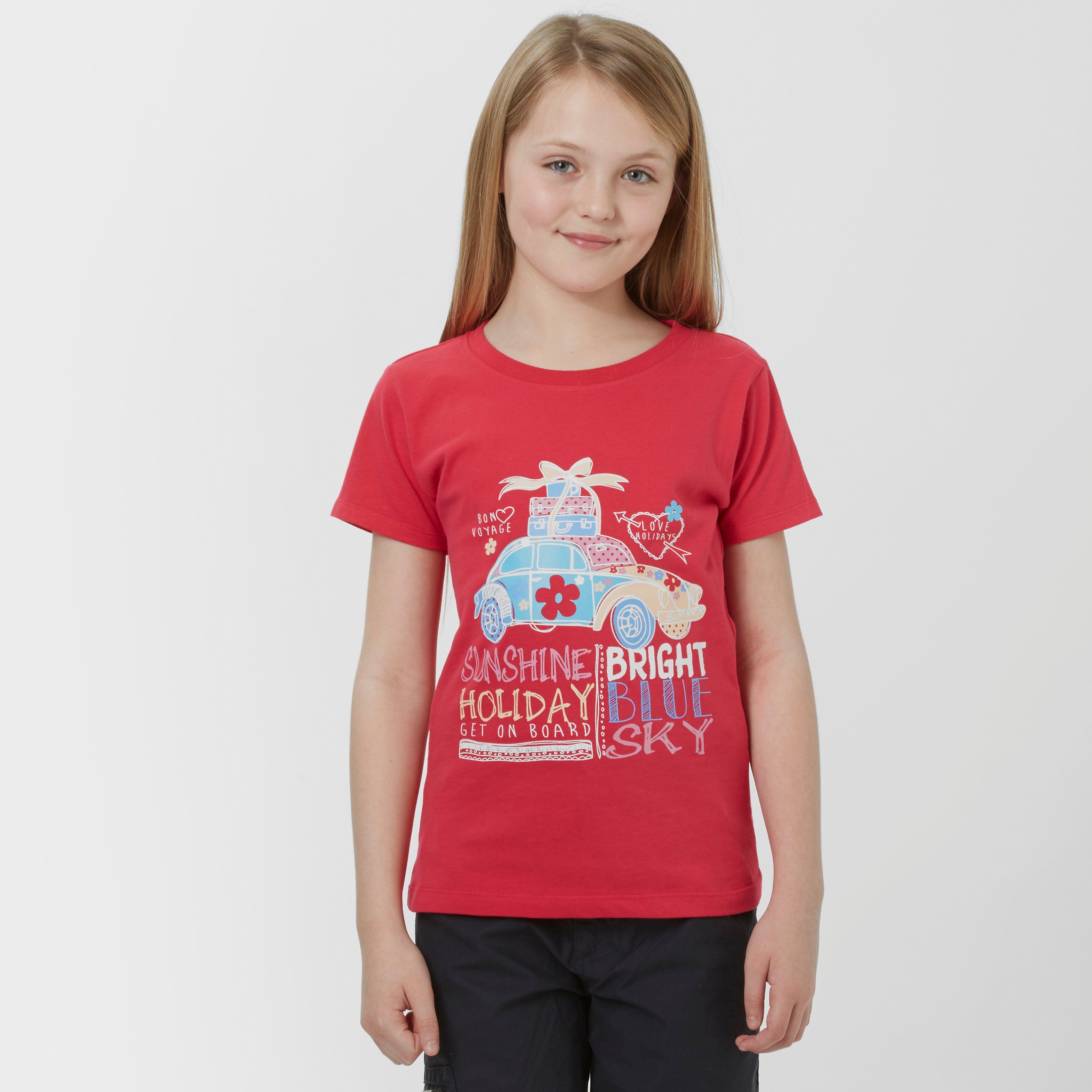PETER STORM Girl's Bon Voyage T-Shirt