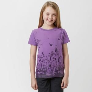 PETER STORM Girl's Border Floral T-Shirt