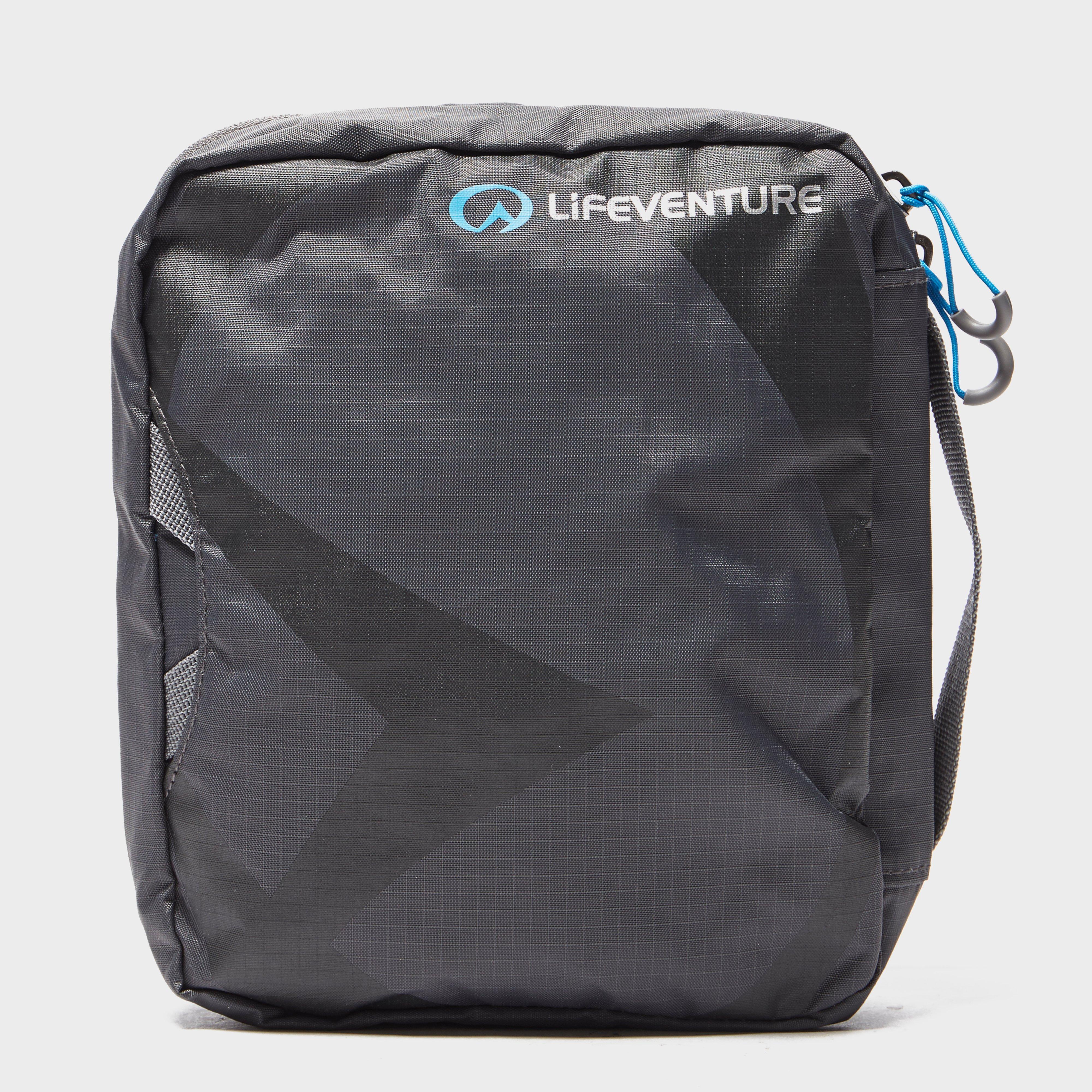 Lifeventure Travel Wash Bag (Large), Dark Grey