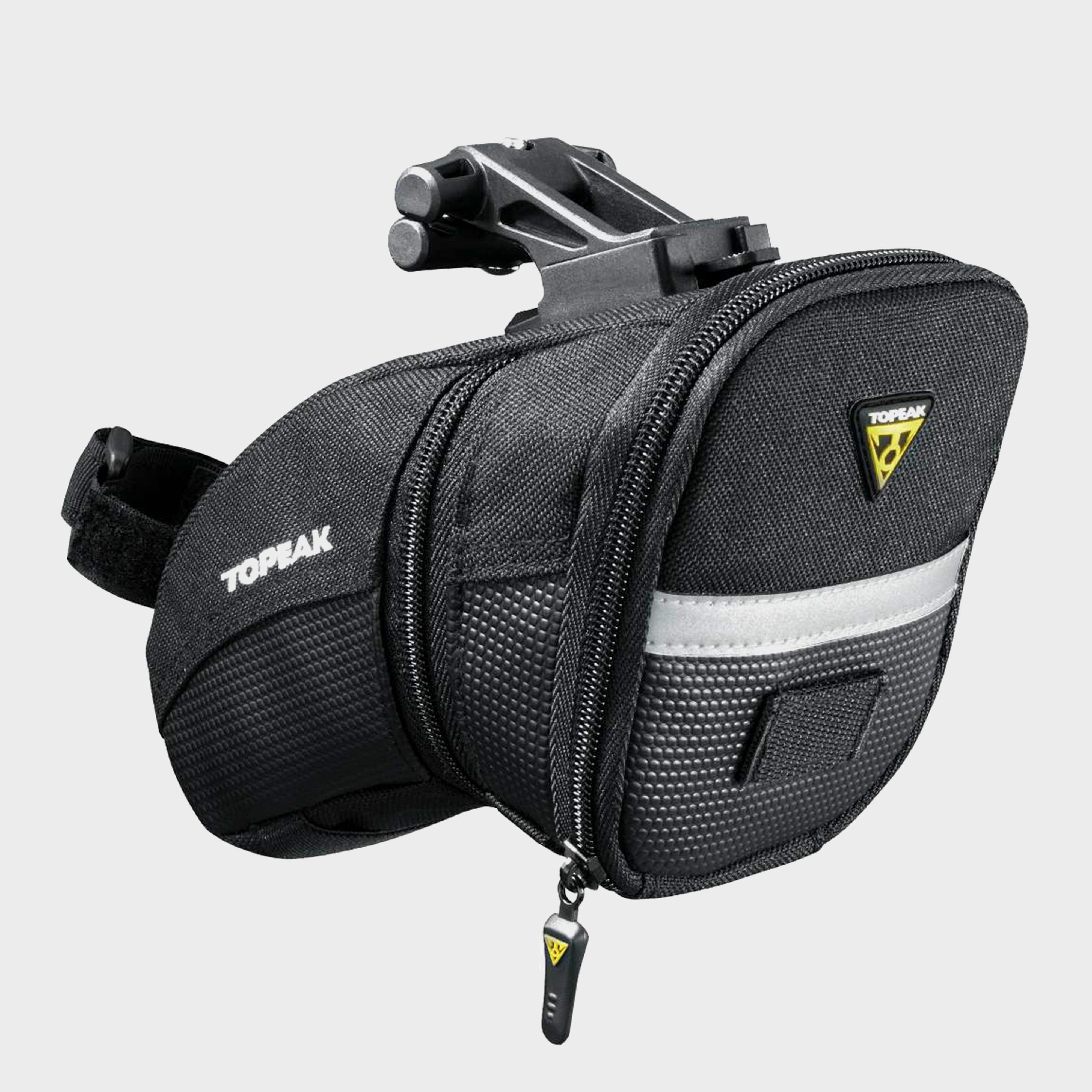 Topeak Aero Wedge Quick Clip Saddle Bag (Medium) Black