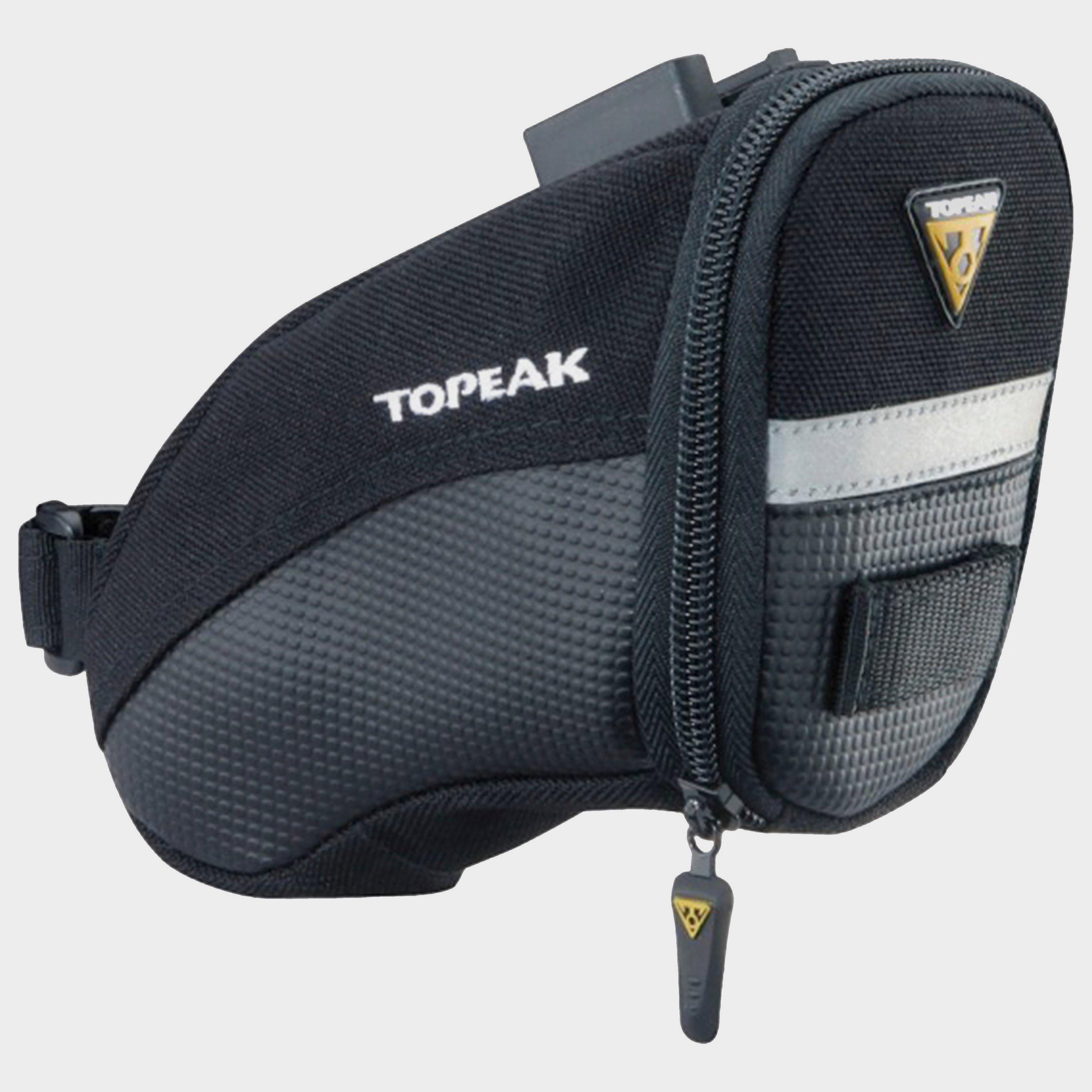 Topeak Aero Wedge Quick Clip Saddle Bag Black