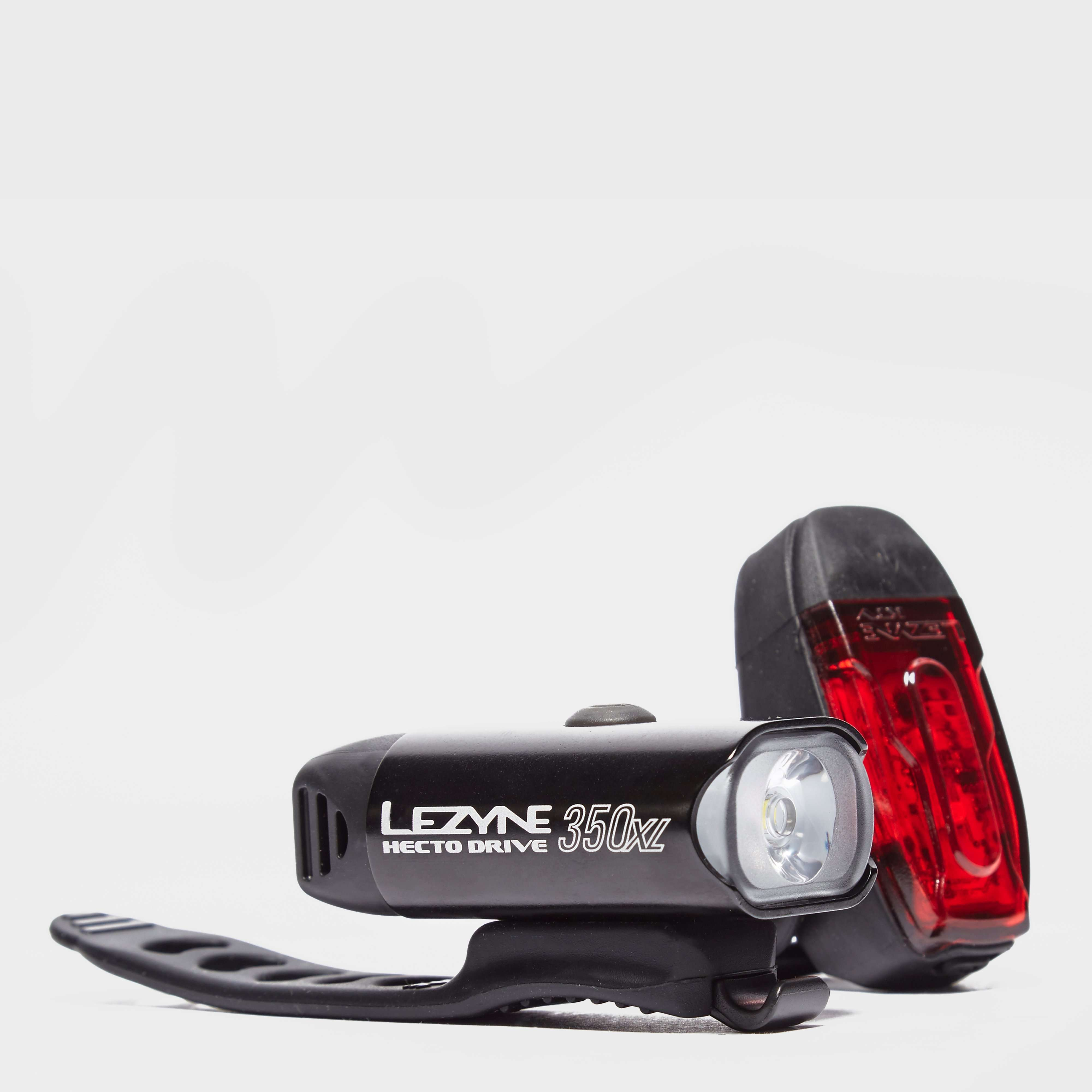 LEZYNE Hecto Drive 350 XL and KTV Rear Bike Light