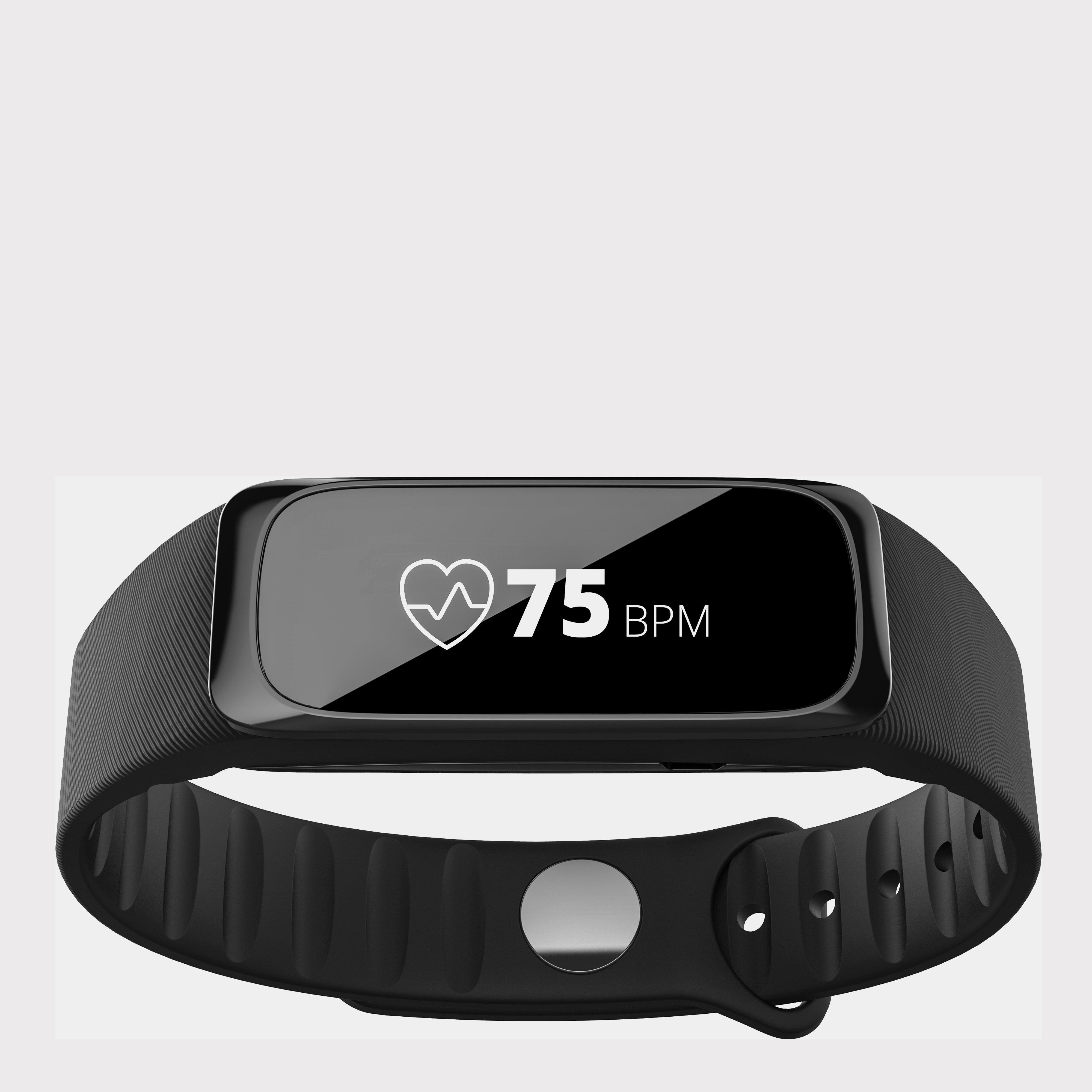 Hi Tec Active Trek Plus Heart Rate Smart Watch Black