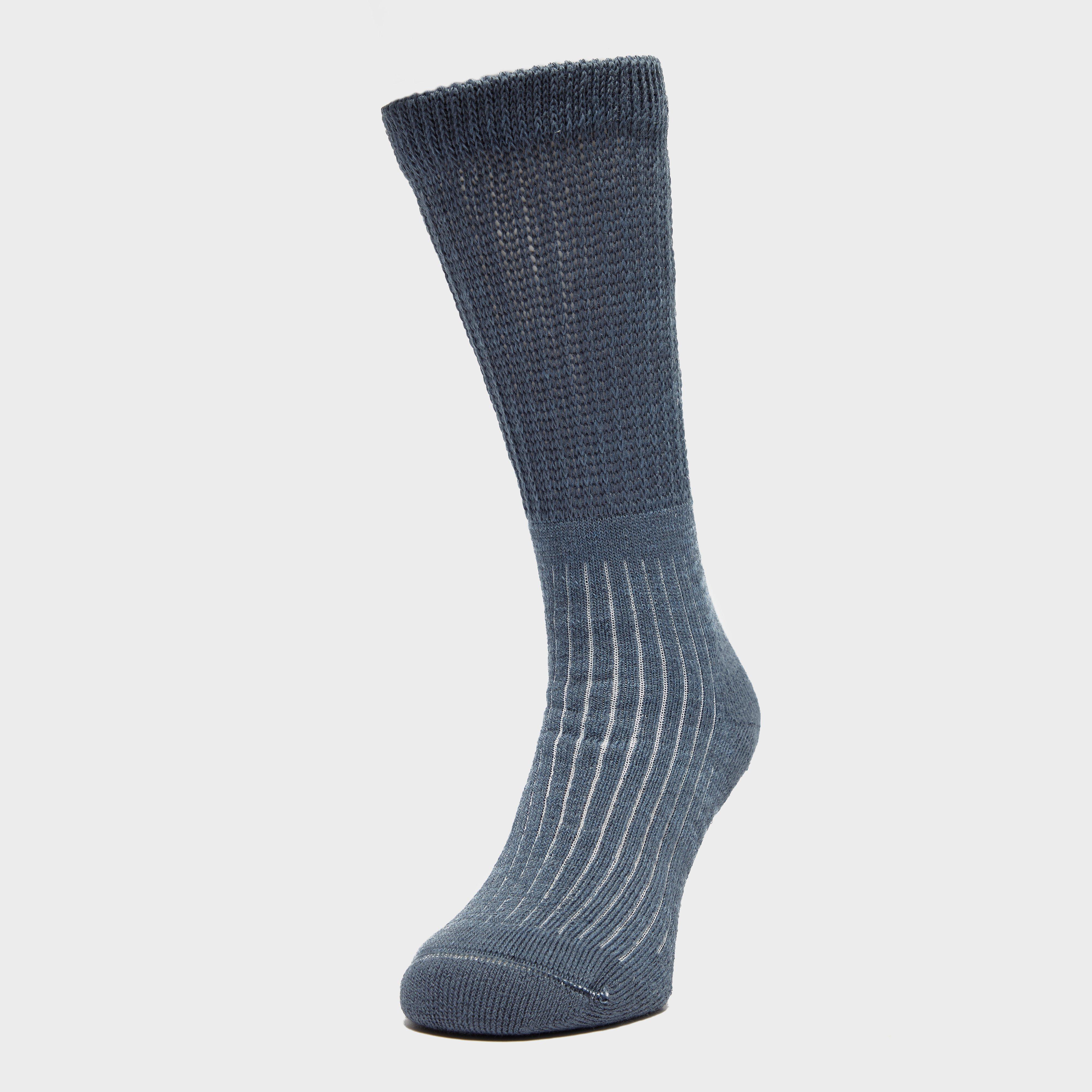 Brasher Womens Hiker Socks - Blue  Blue