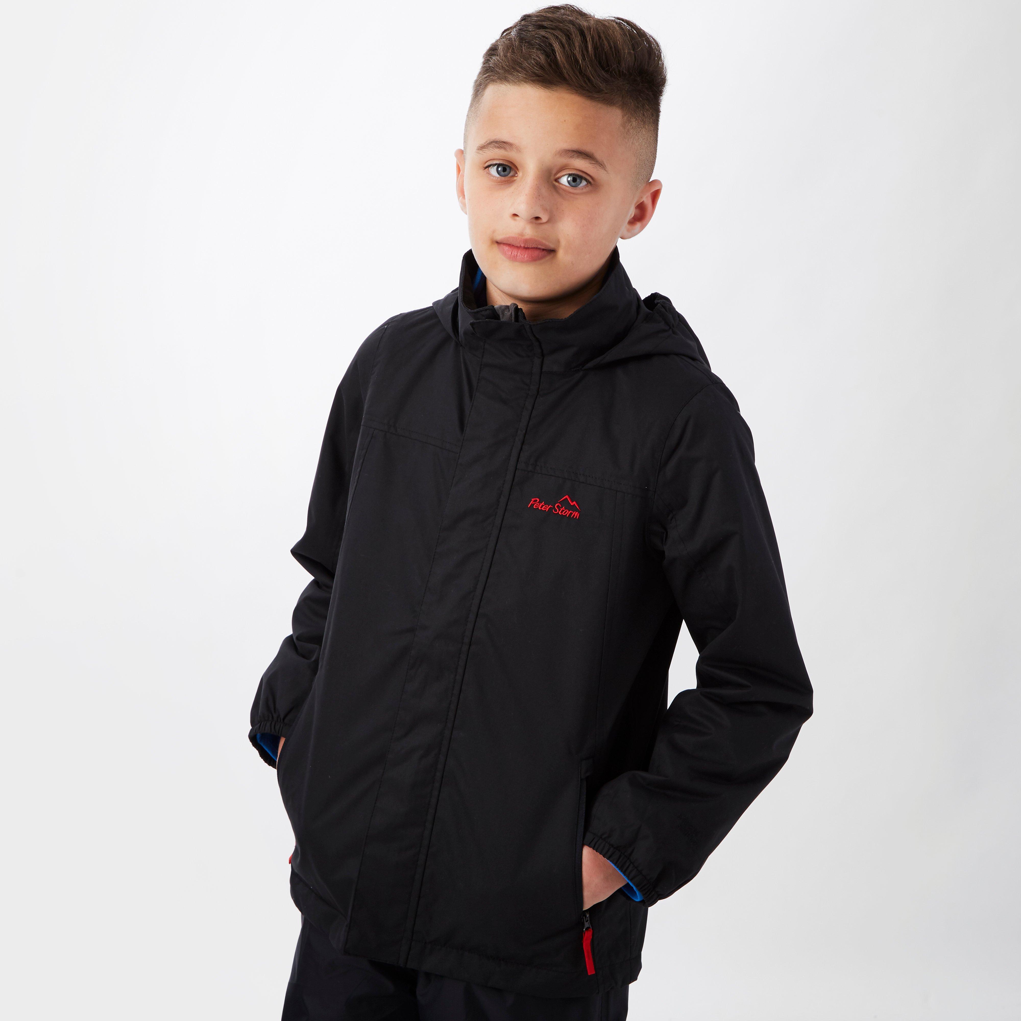 Photo of Peter storm kids peter ii waterproof jacket - black- black