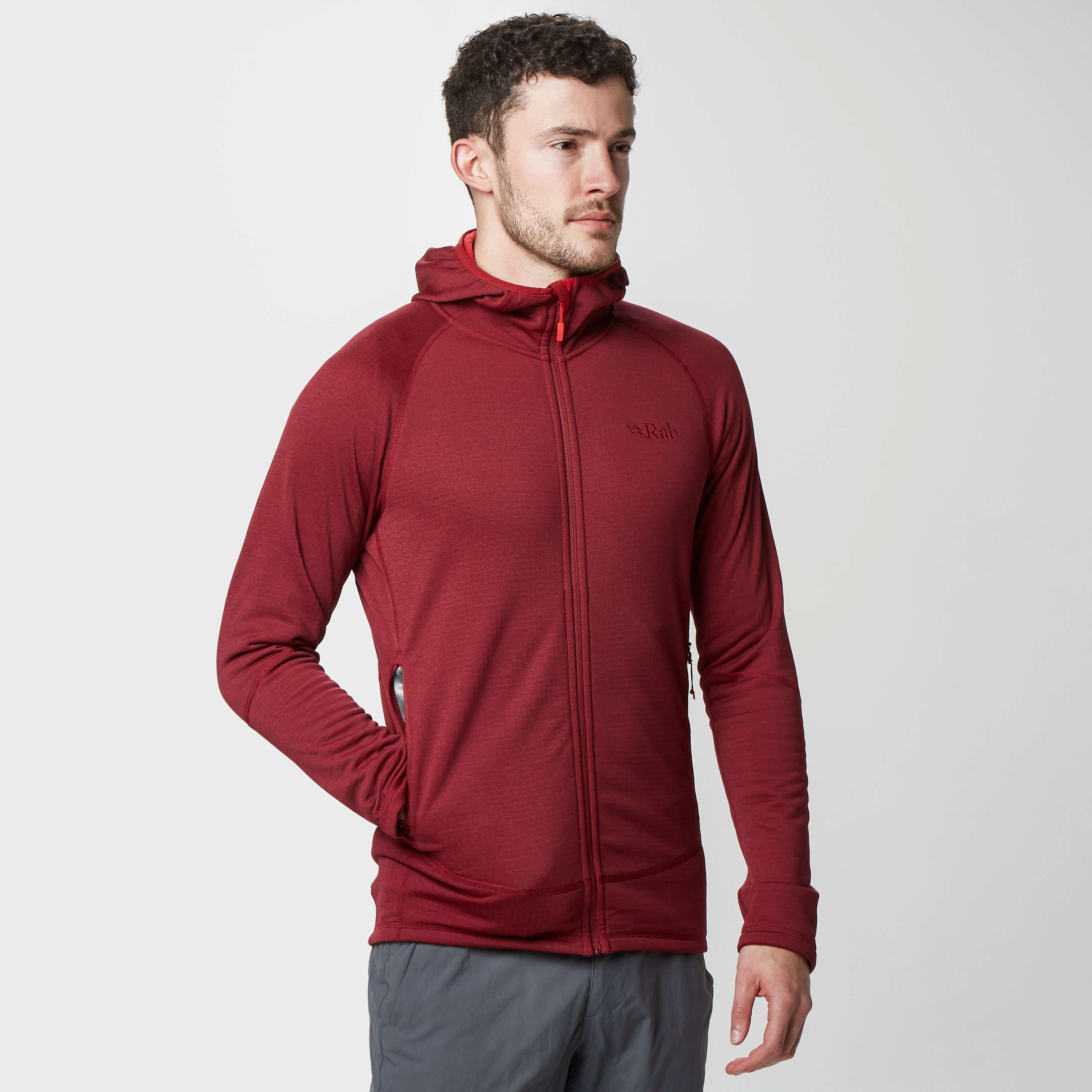 RAB Men's Nucleus Pull-On Red