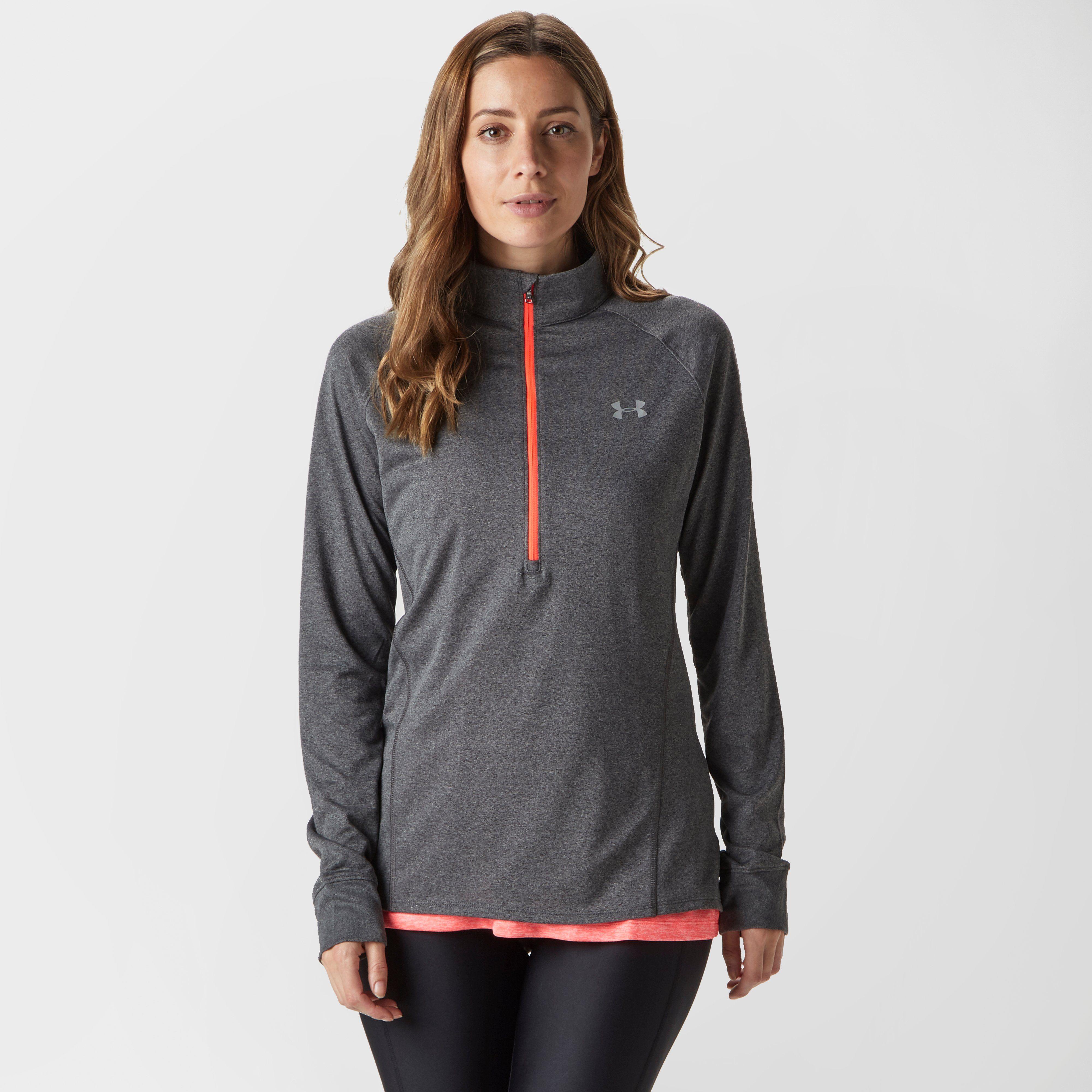 UNDER ARMOUR Women's UA Tech Half-Zip Twist Sweatshirt