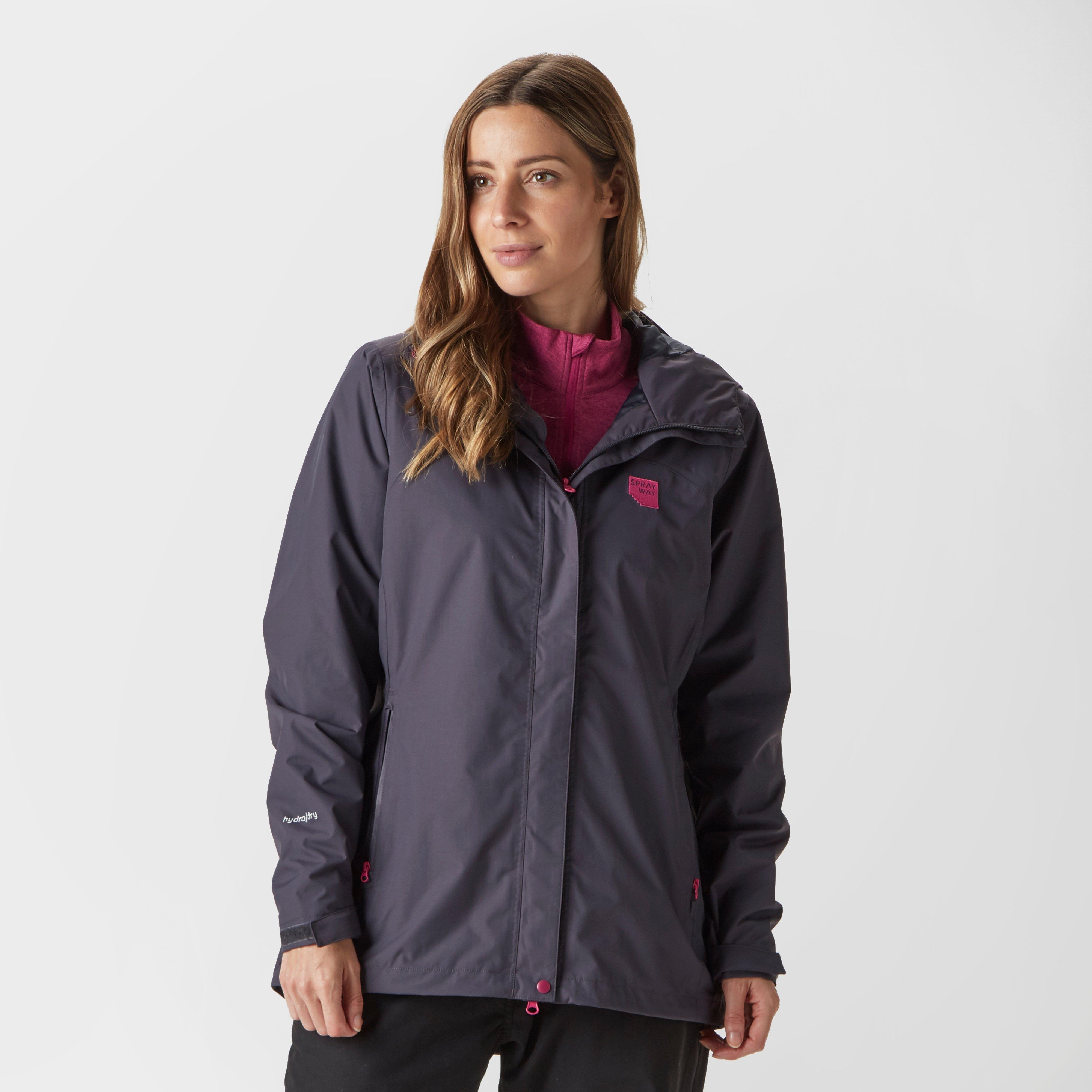 Sprayway Women's Appalachia Jacket, Grey