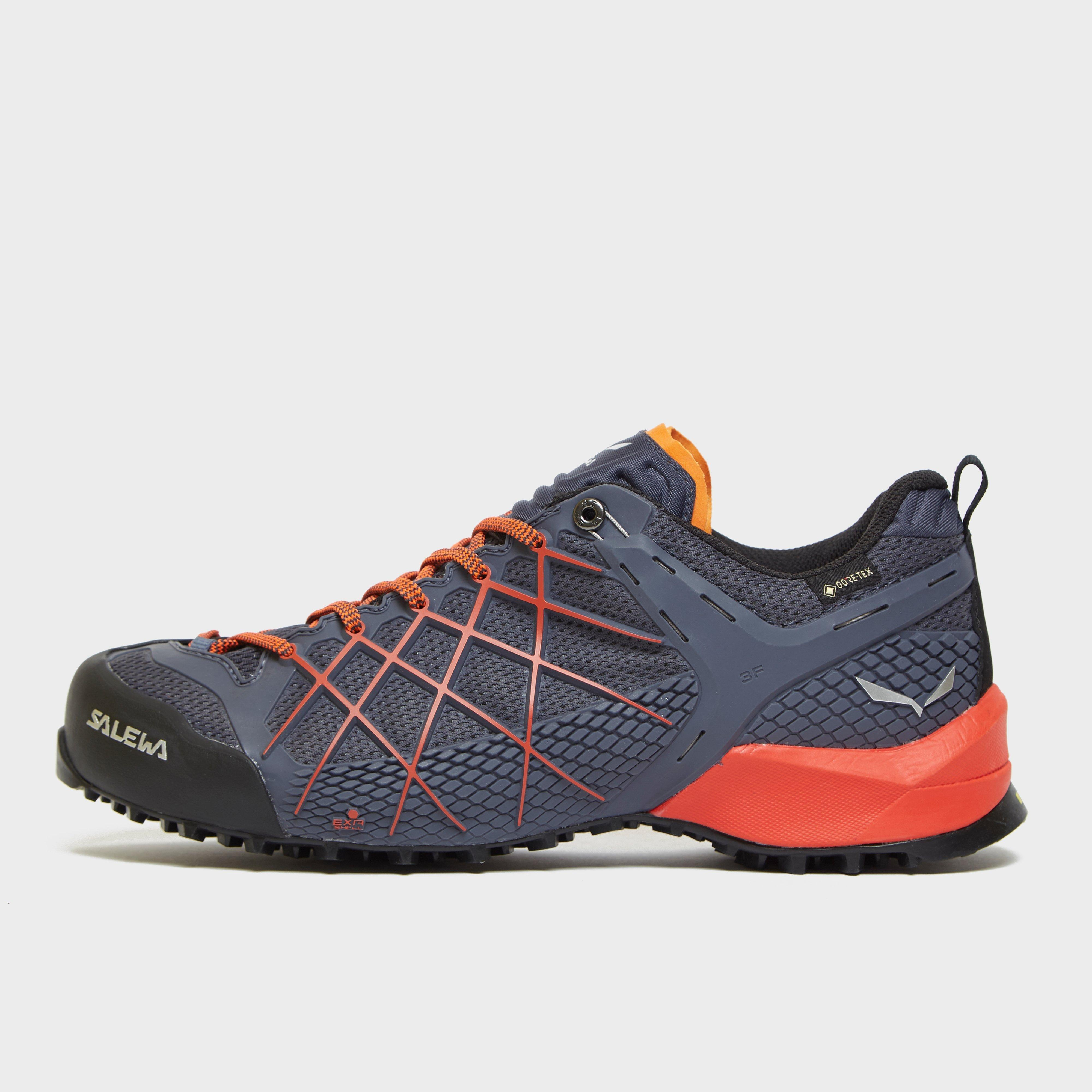 Salewa Mens Wildfire Gore-tex Approach Shoes - Navy/org  Navy/org