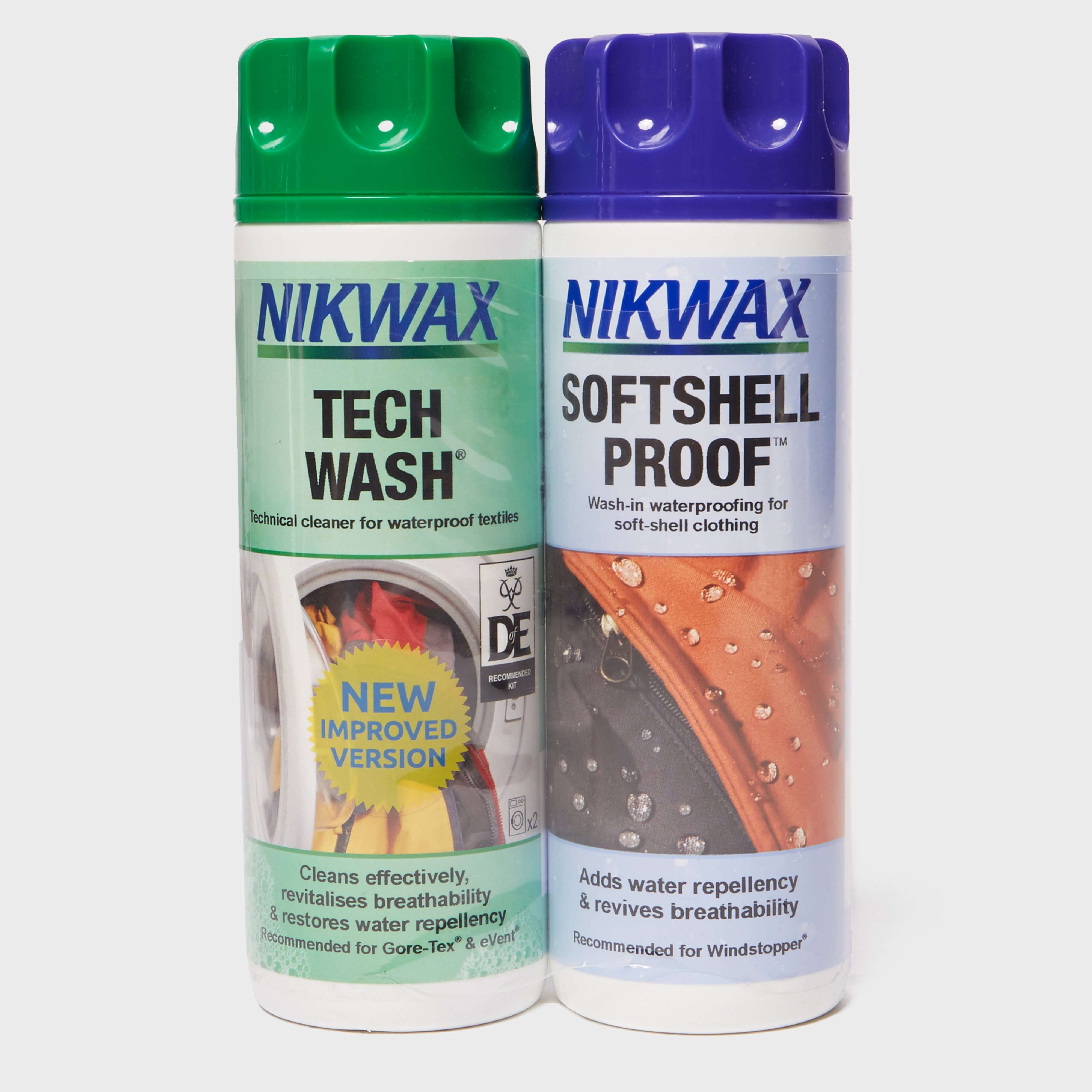 NIKWAX Softshell Proof™ Wash-In Twin Pack 300ml