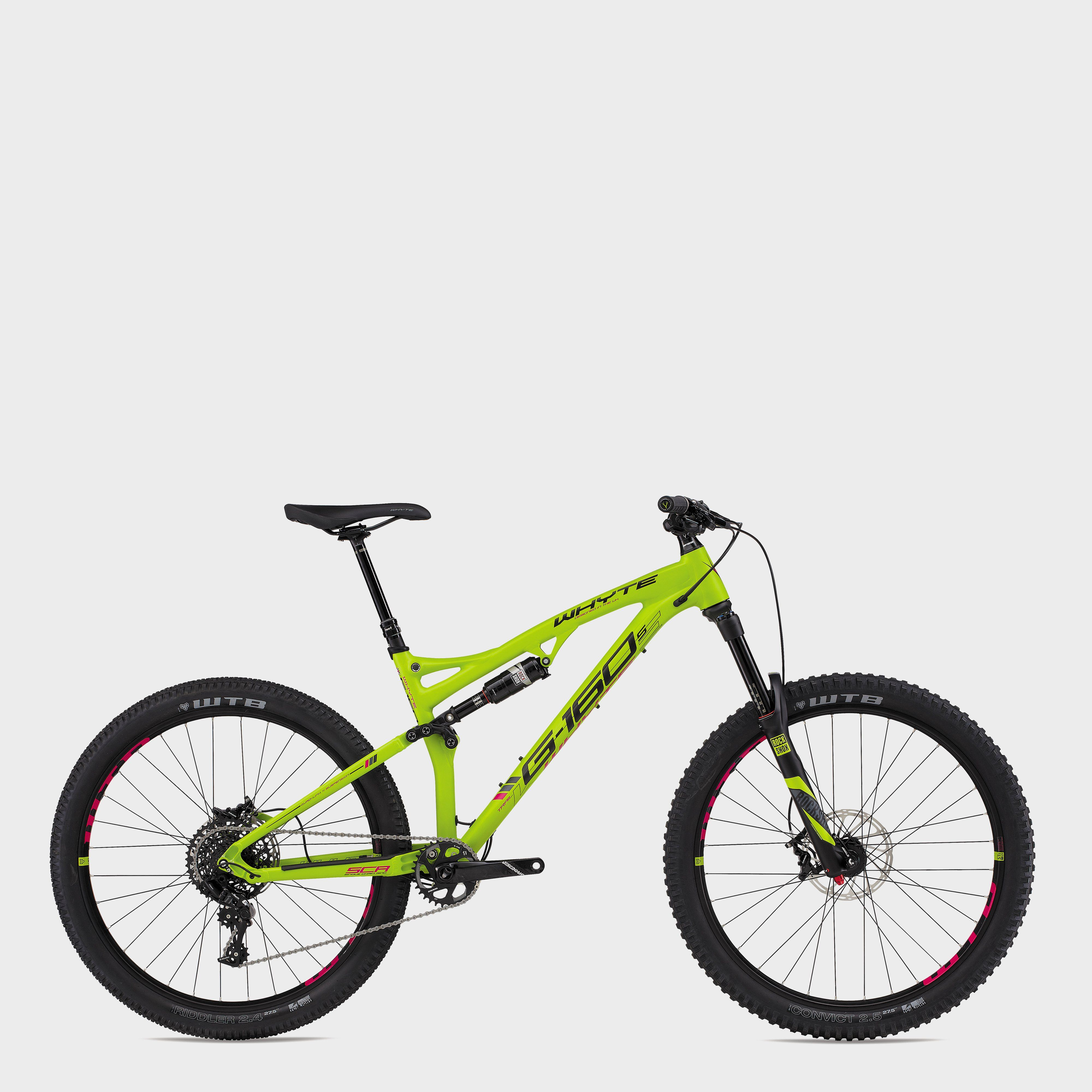 WHYTE BIKES G160S Full Suspension Bike