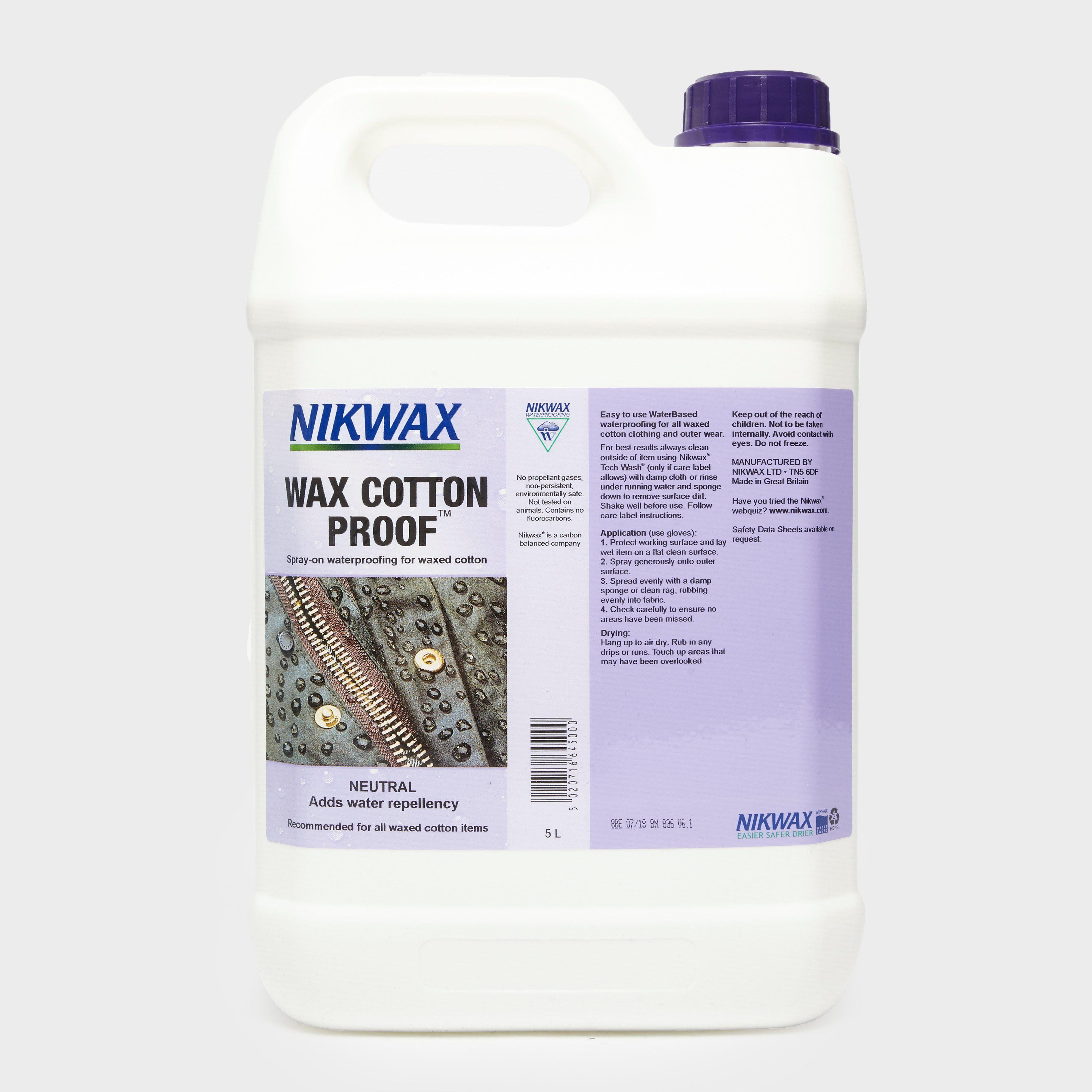 NIKWAX Wax Cotton Proof™ 5L