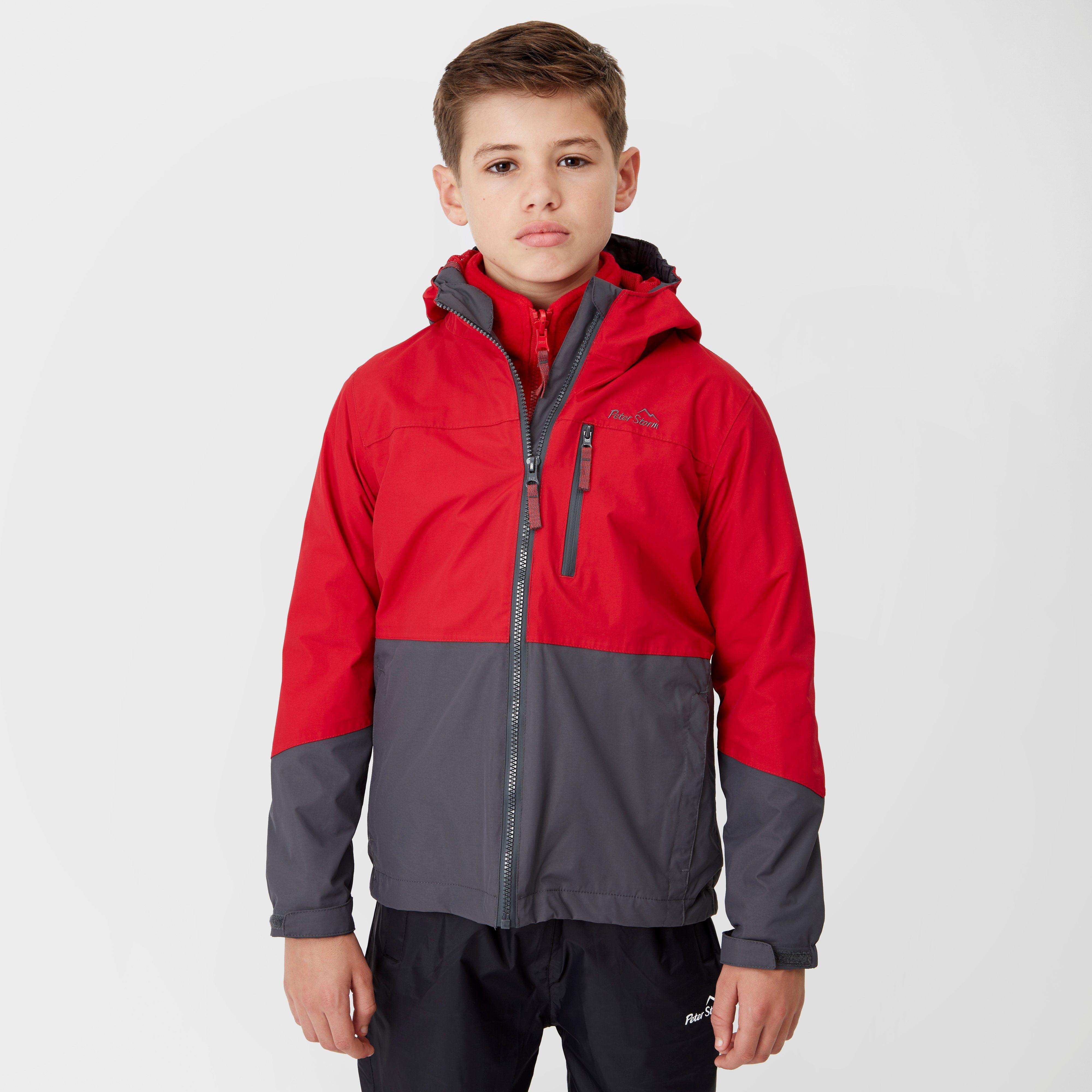 PETER STORM Boy's Cloudburst 3-in-1 Jacket