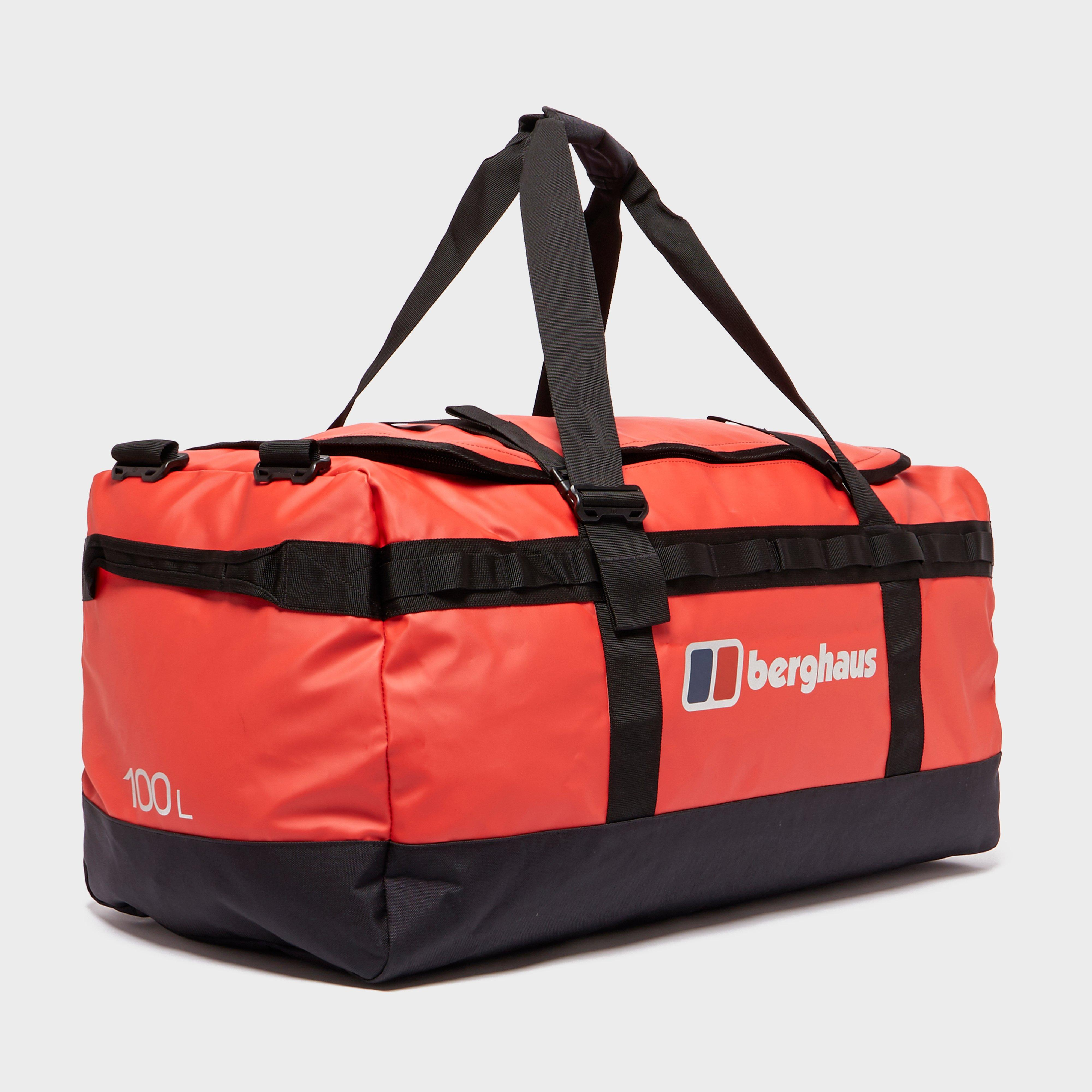 Berghaus 100l Holdall - Red/red  Red/red