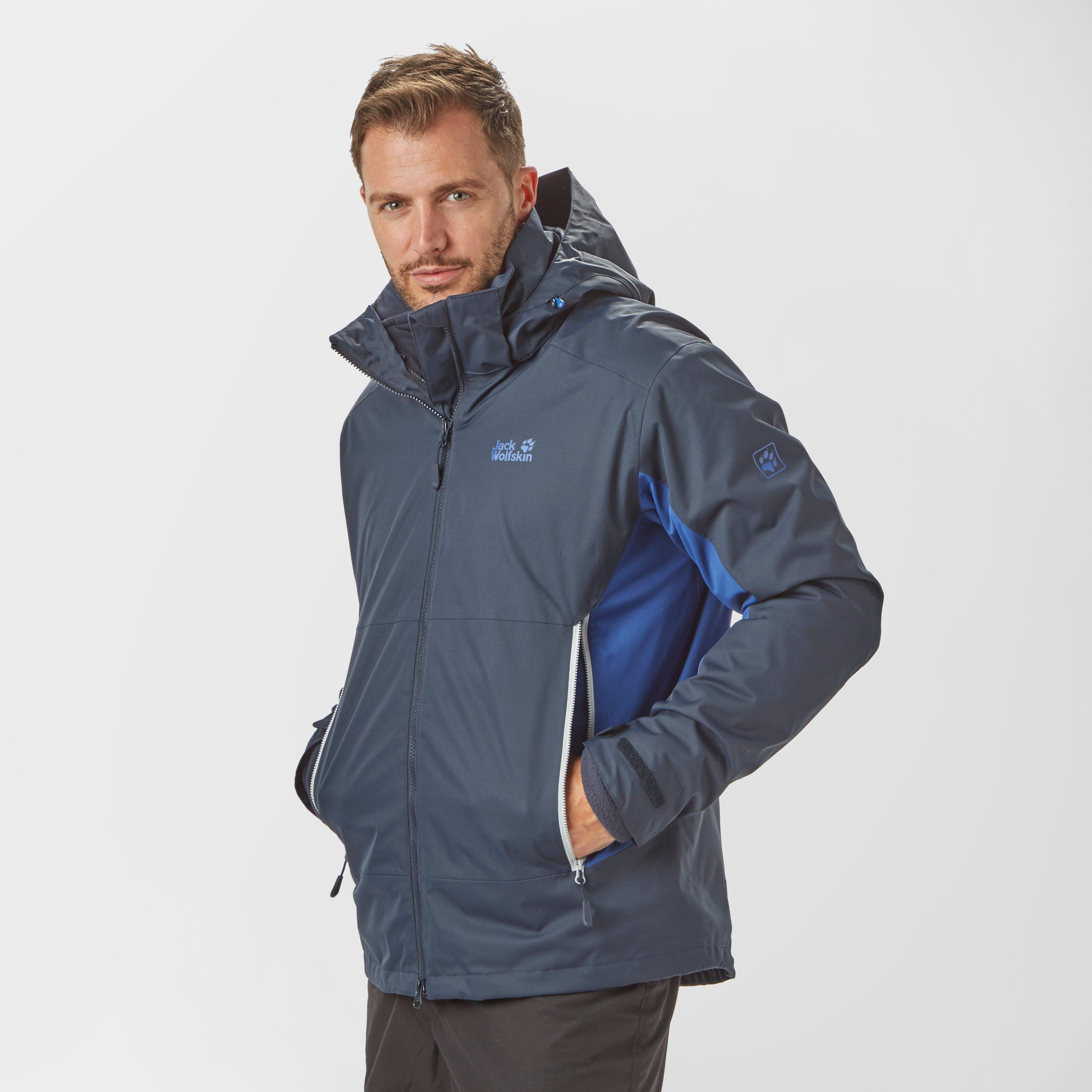 JACK WOLFSKIN Men's North Border 3 in 1 Jacket