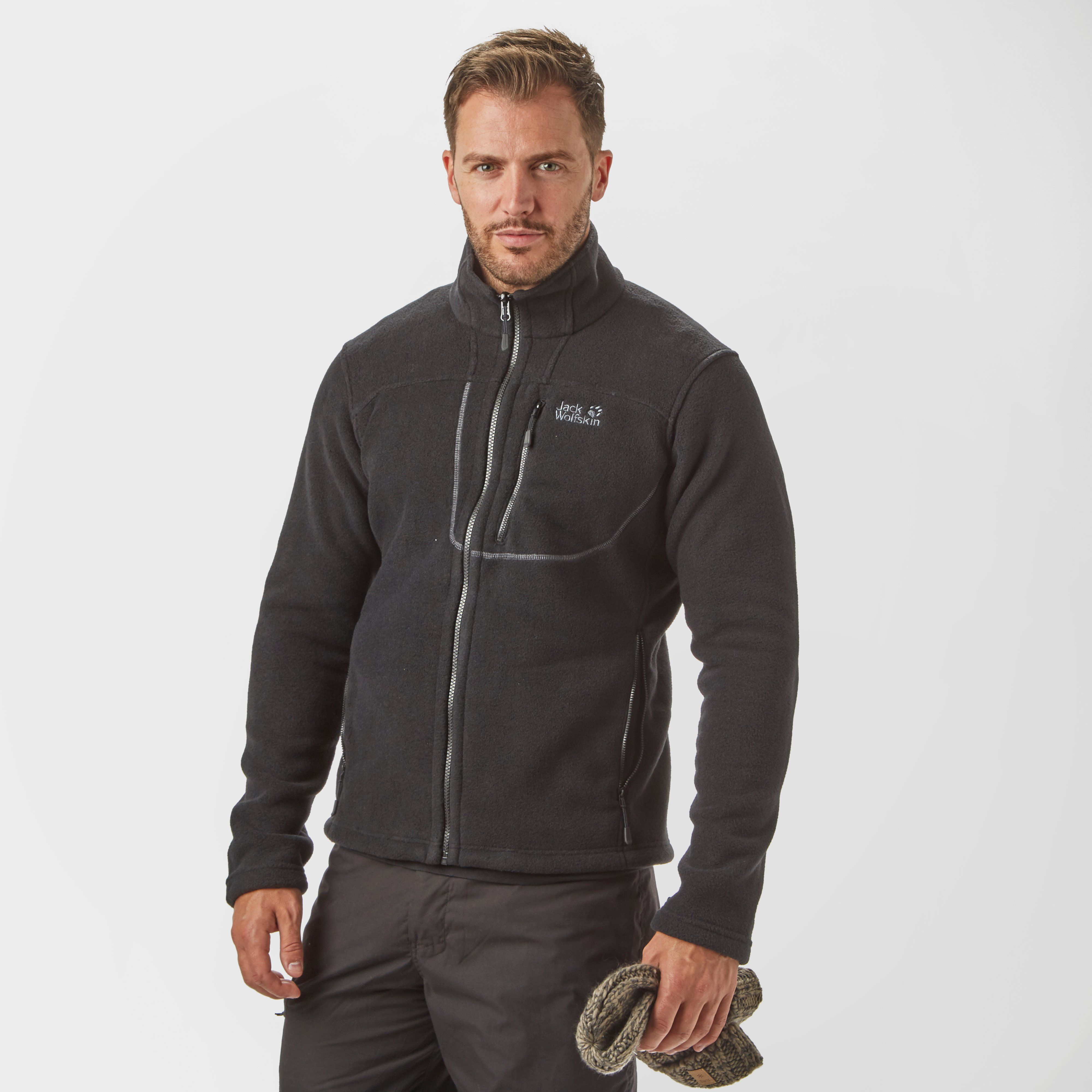 JACK WOLFSKIN Men's Vertigo Full-Zip Fleece