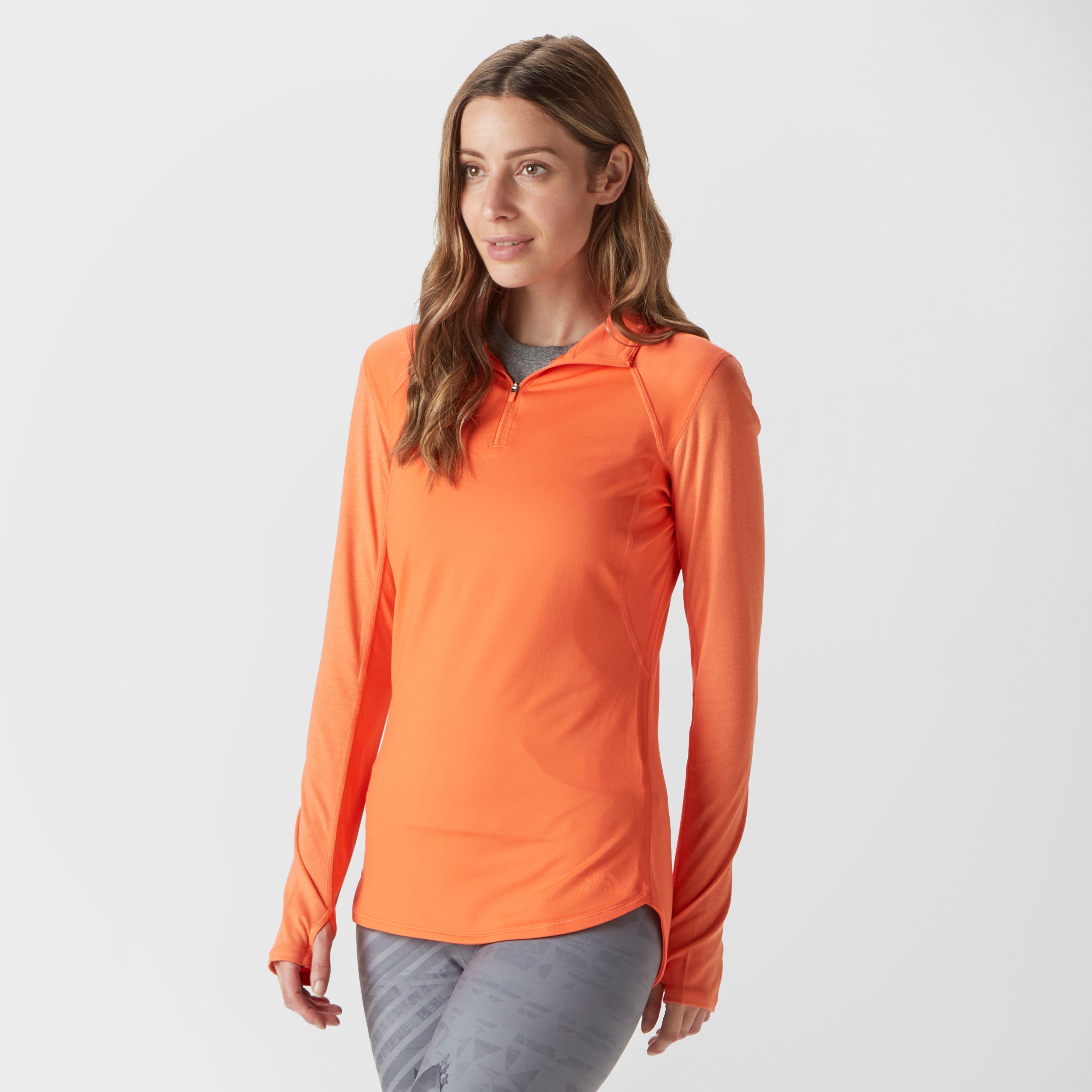 THE NORTH FACE Women's Mountain Athletics Motivation Quarter Zip Fleece