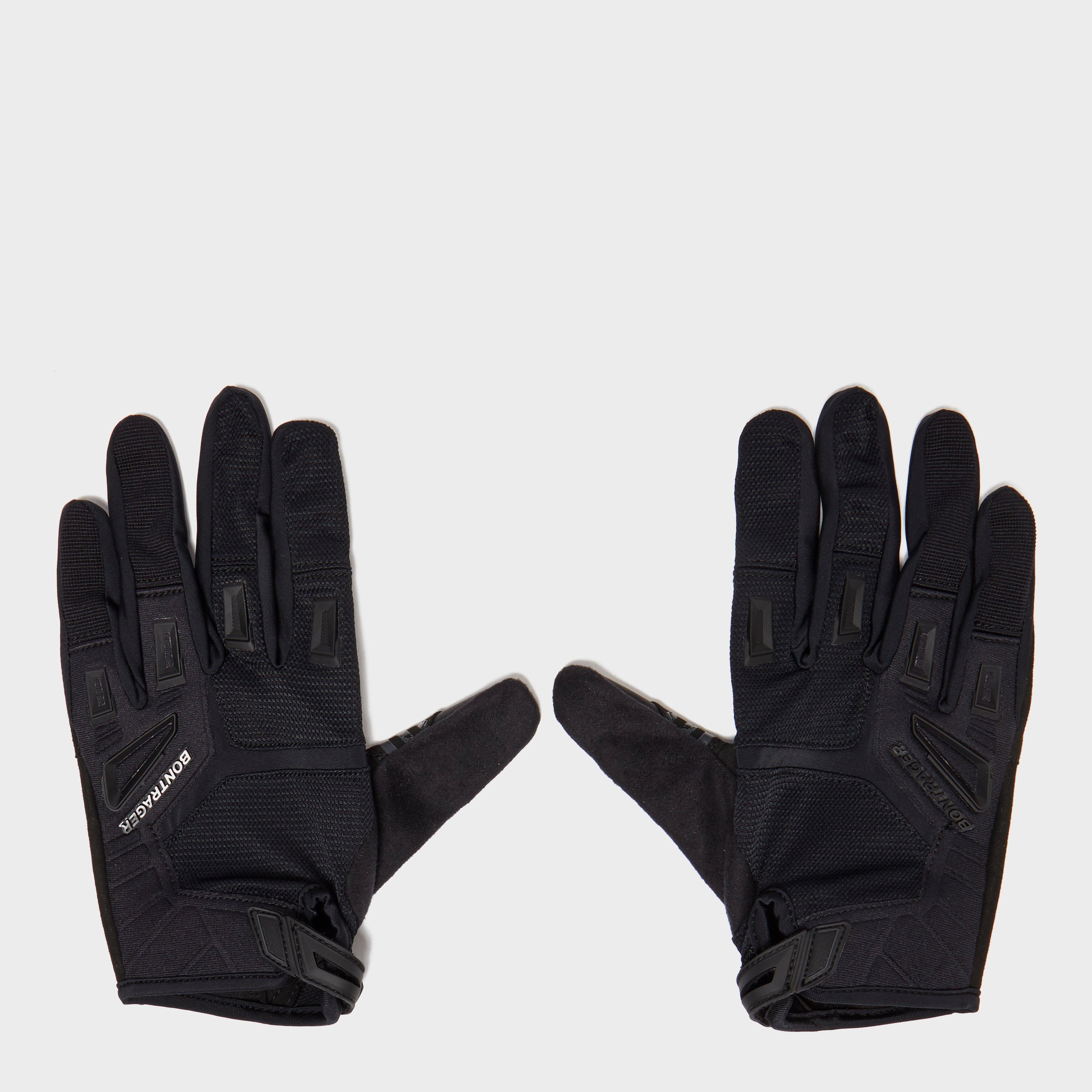 Bontrager Lithos Mountain Bike Gloves, Black