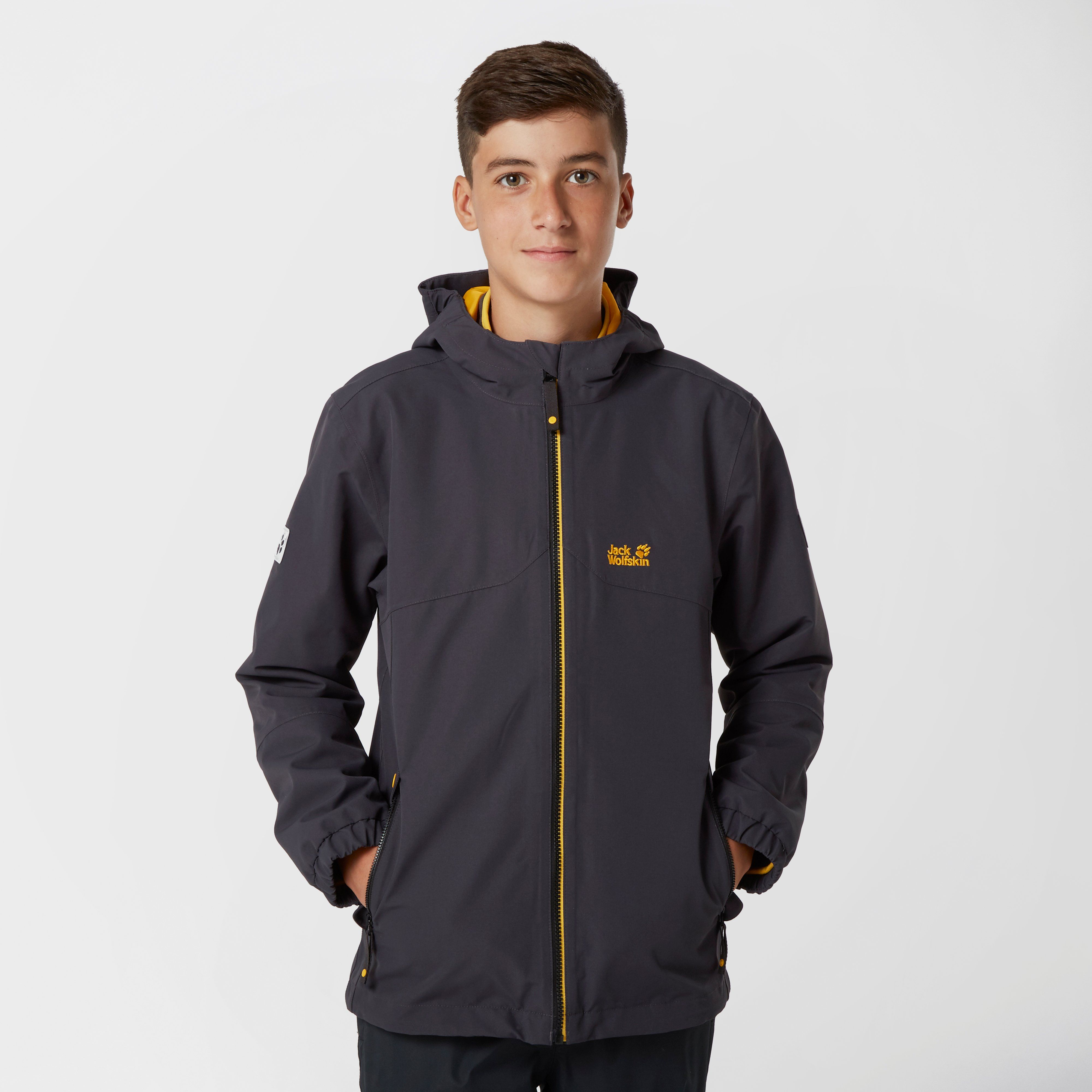 JACK WOLFSKIN Boy's Iceland 3 in 1 Jacket