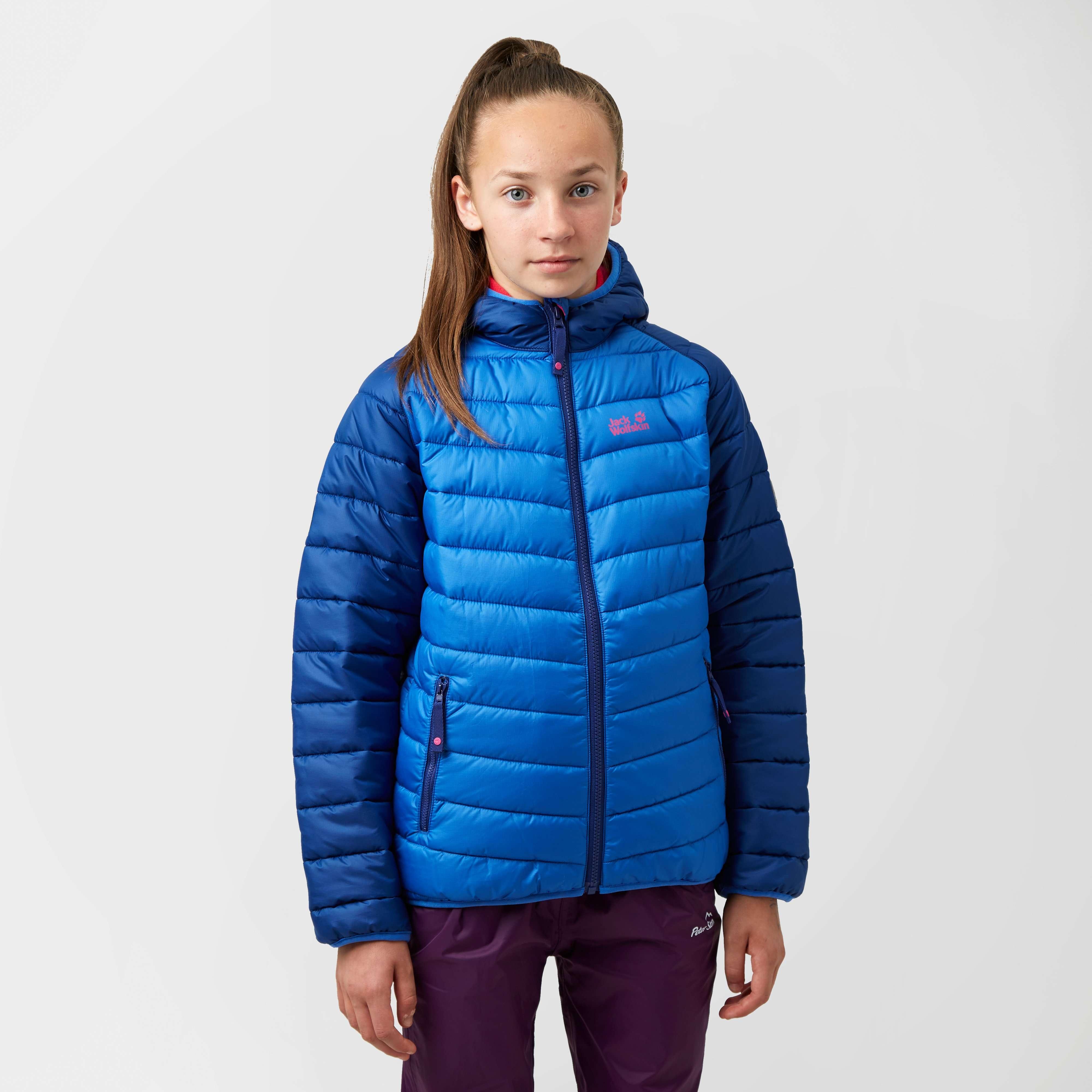 JACK WOLFSKIN Girls Zenon Insulated Hooded Jacket
