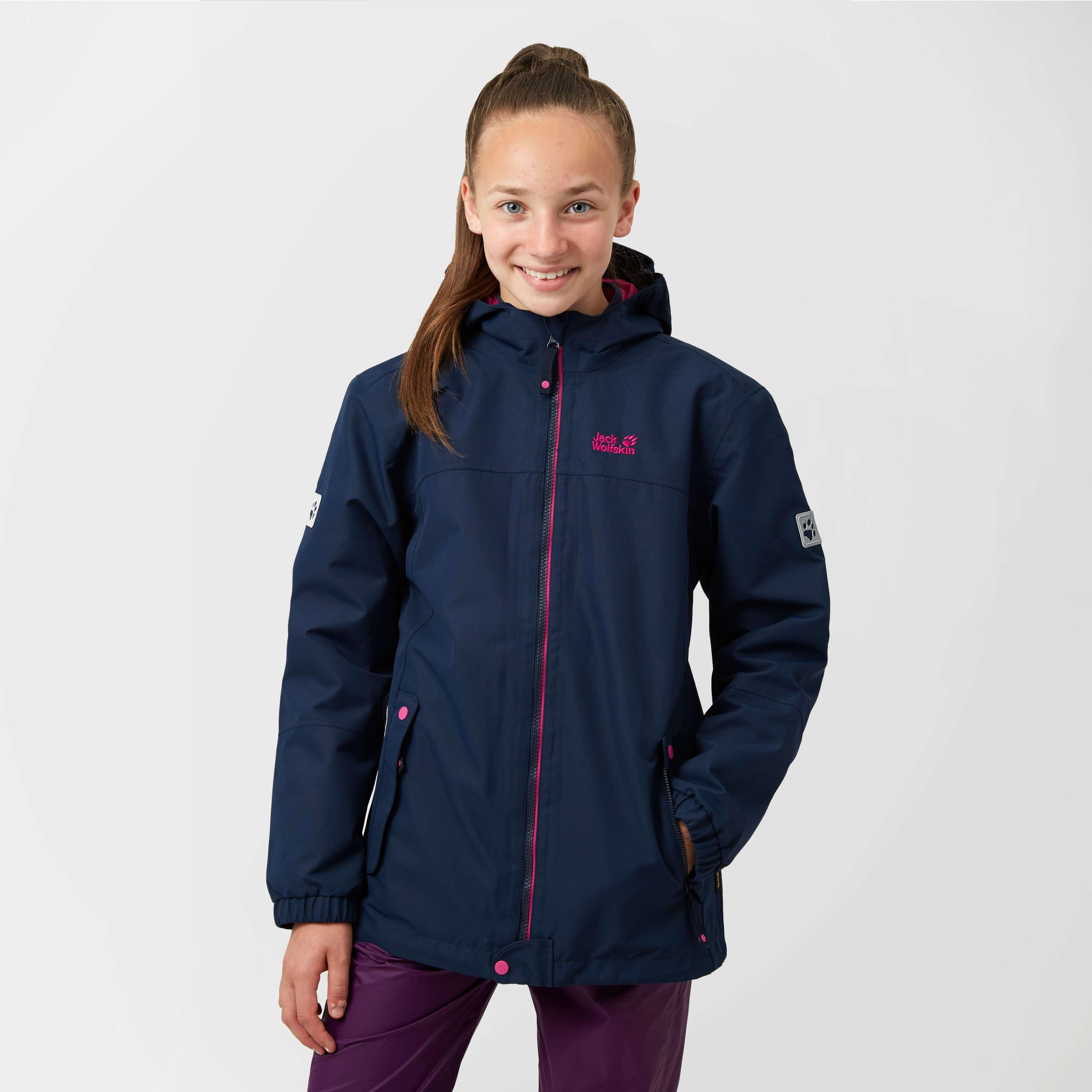 JACK WOLFSKIN Girl's Iceland 3 in 1 Jacket