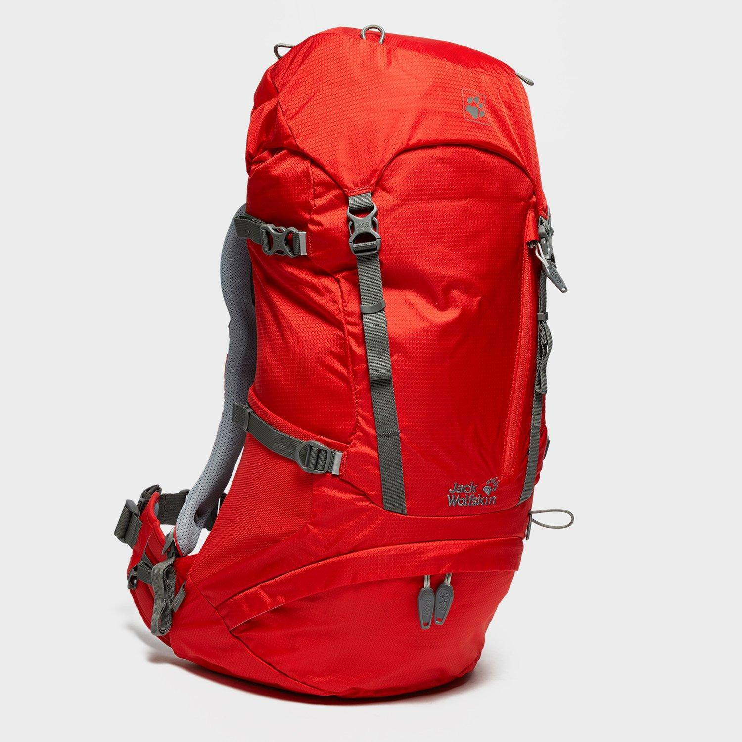 Jack Wolfskin ACS Hike 32 Litre Rucksack  Red Red