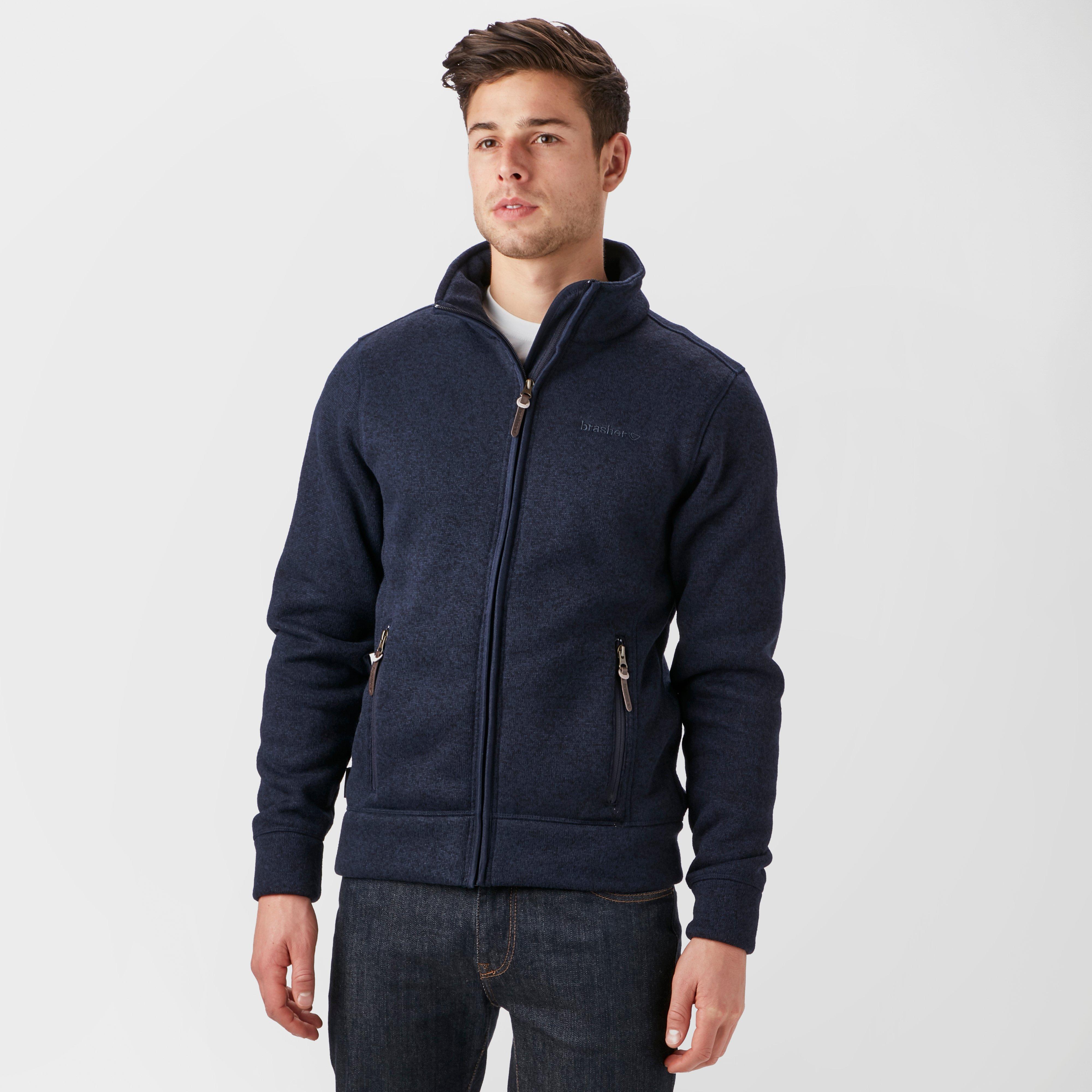 Brasher Mens Rydal Ii Fleece Jacket - Navy/nvy  Navy/nvy