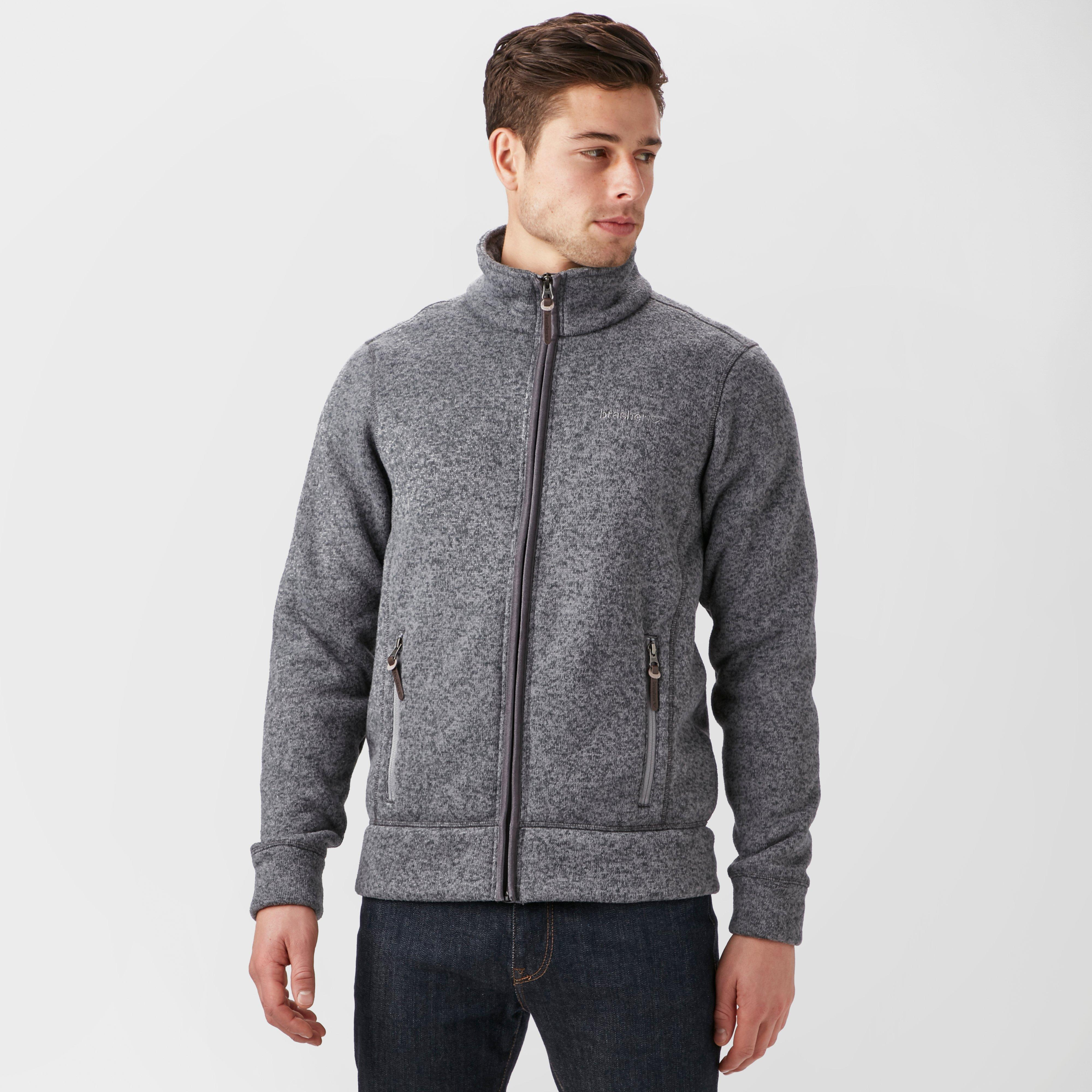 Brasher Mens Rydal Ii Fleece Jacket - Grey/mgy  Grey/mgy