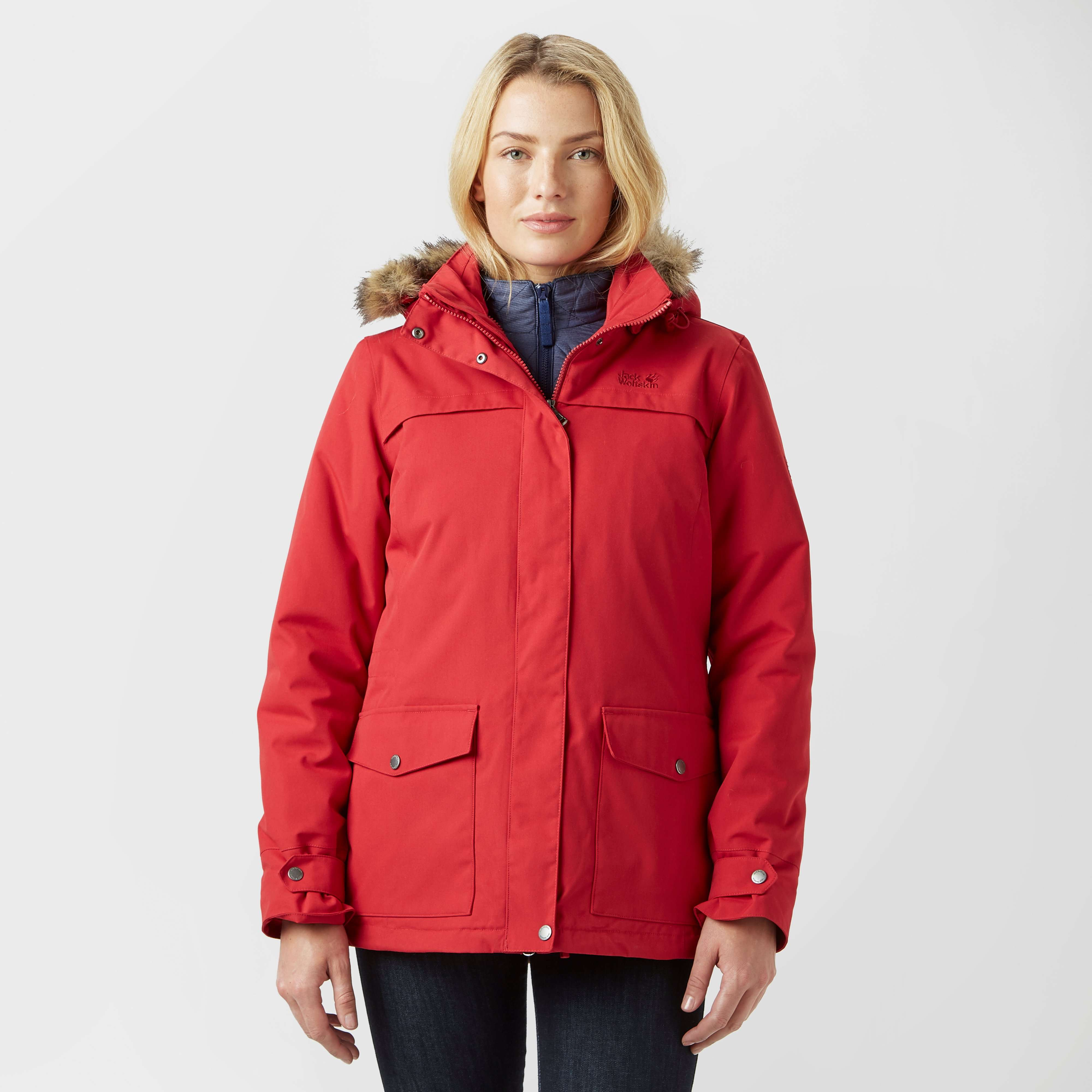 JACK WOLFSKIN Women's Rocky Shore 3 in 1 Parka