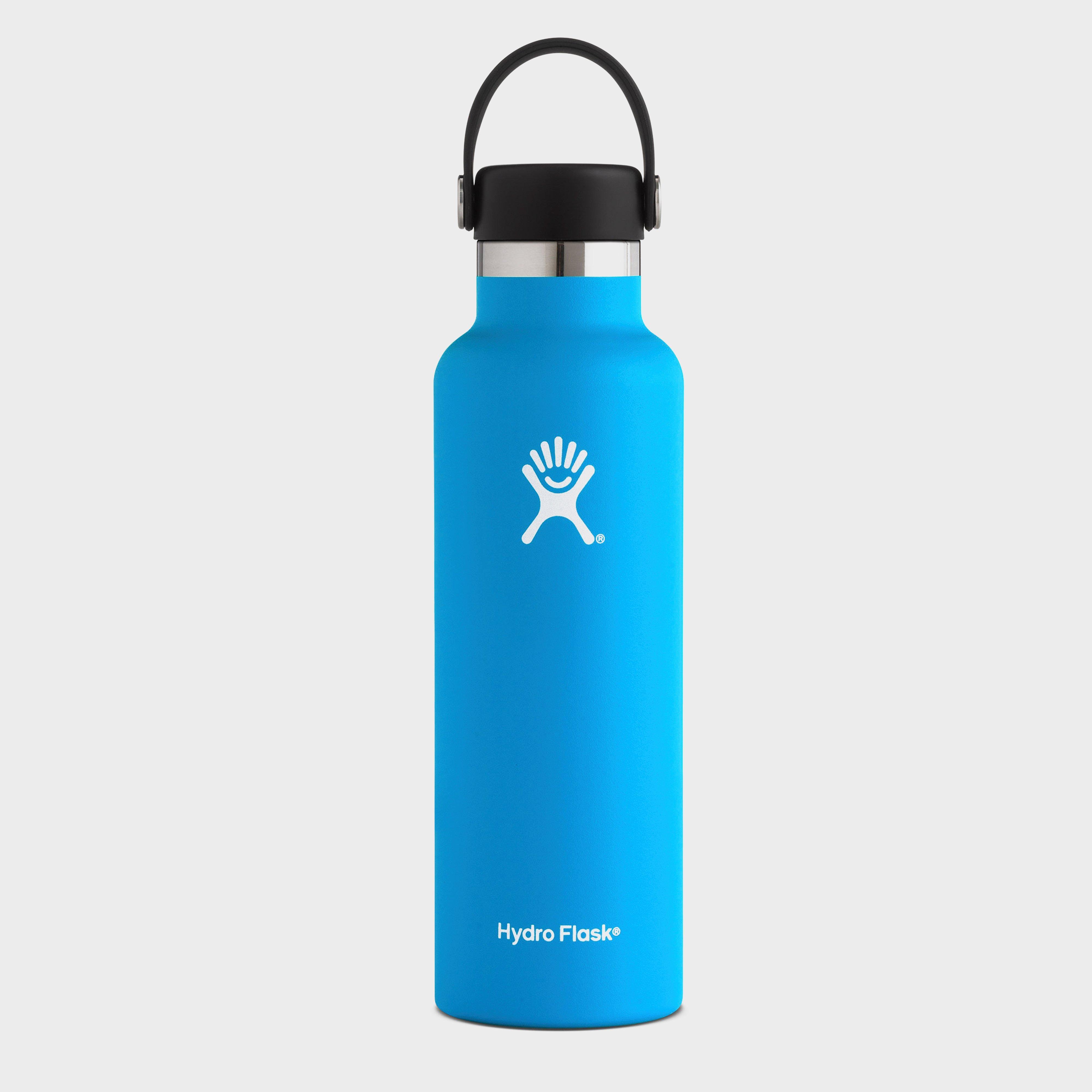 Hydro Flask 21oz Standard Mouth Flask, Blue/Blue