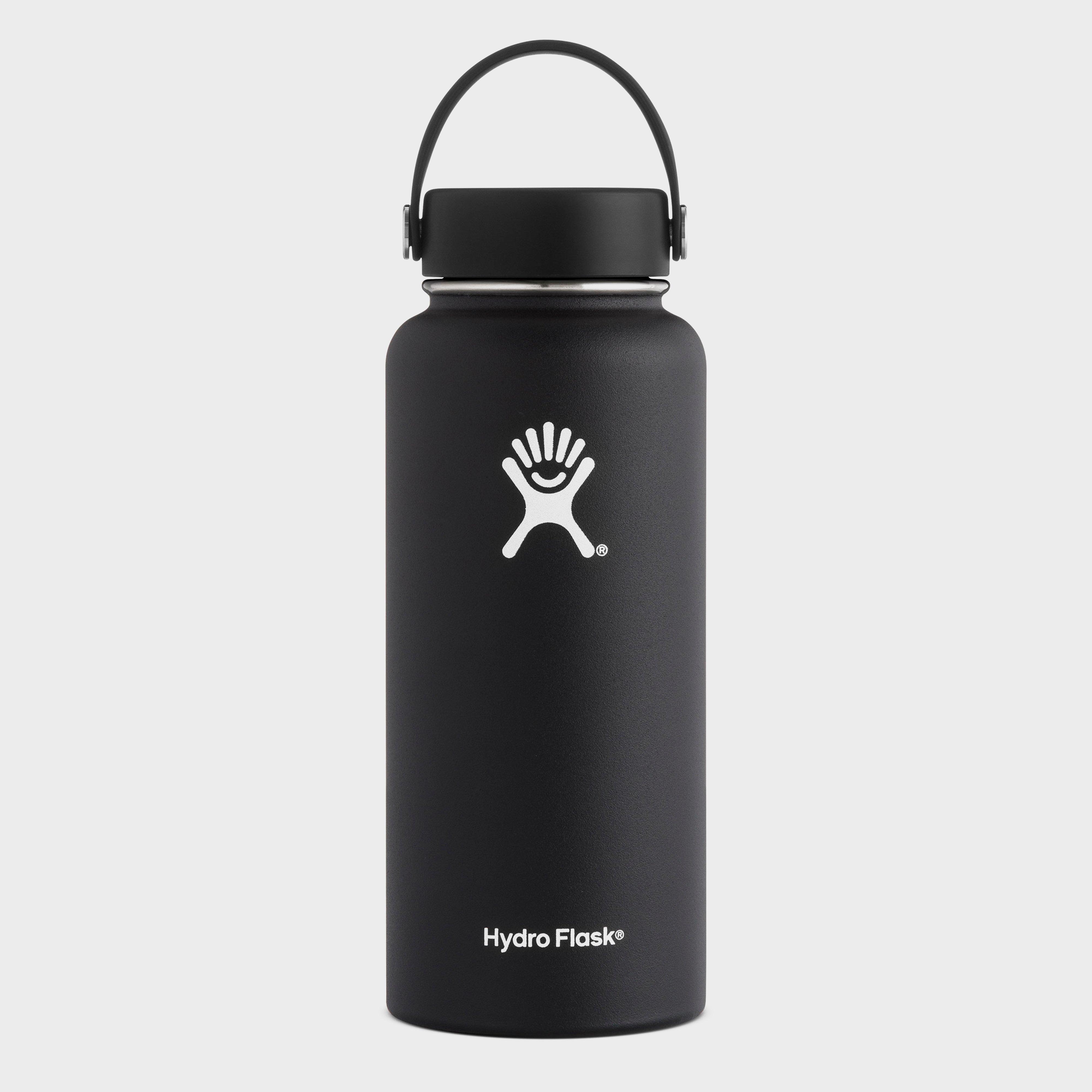 Hydro Flask 32oz Wide Mouth Flask, Black/BLACK