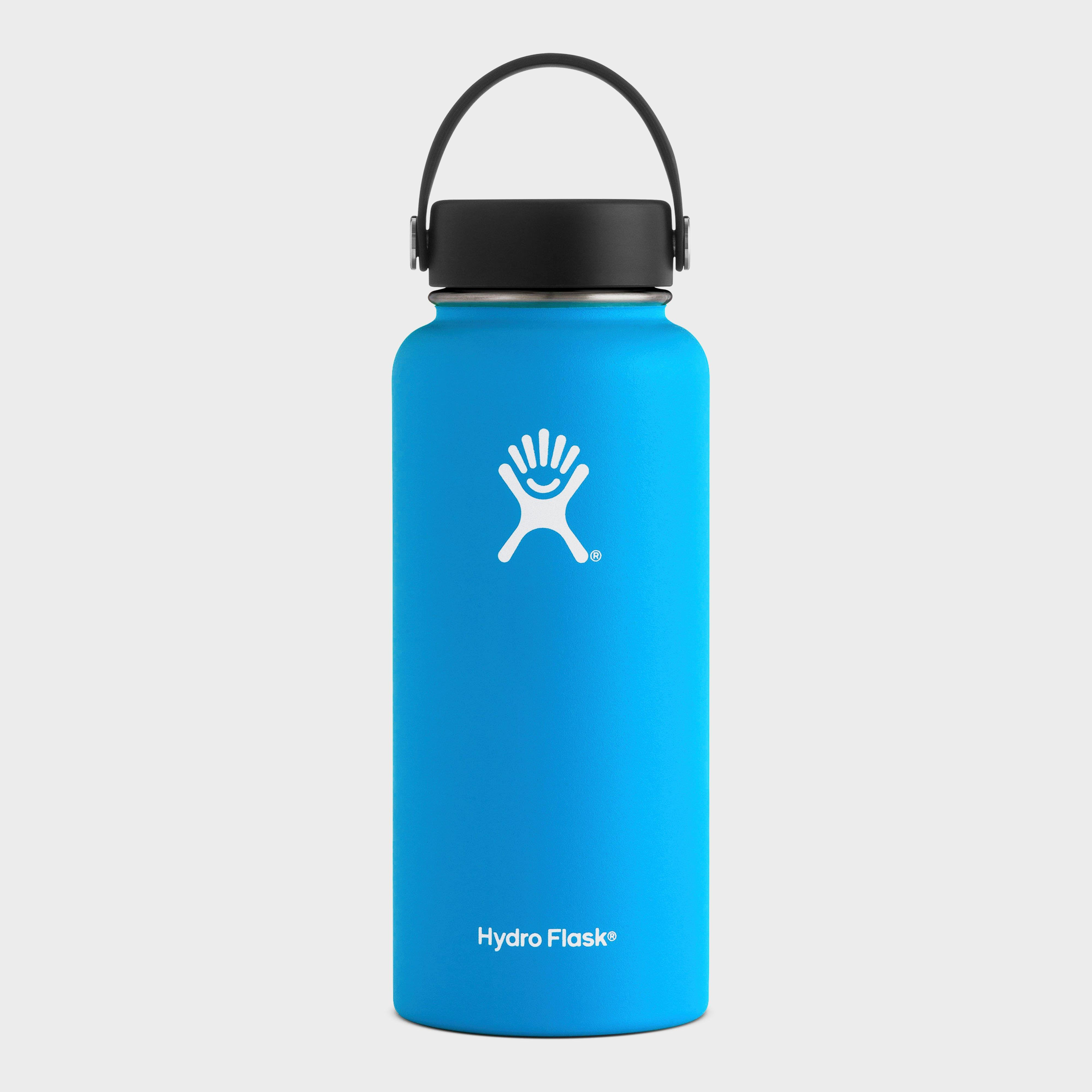 Hydro Flask 32oz Wide Mouth Flask, Blue/Blue