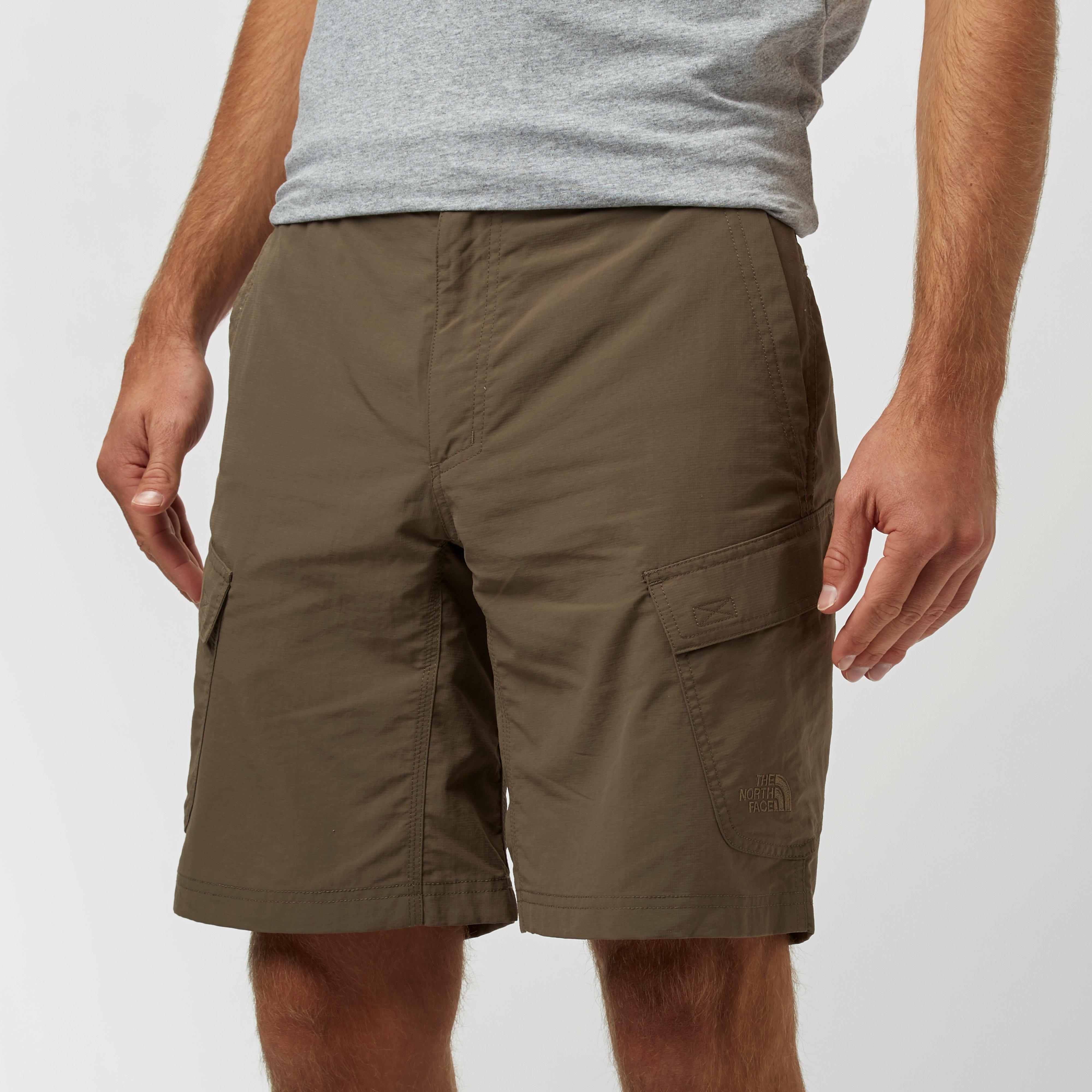 The North Face Mens Horizon Peak Shorts Brown