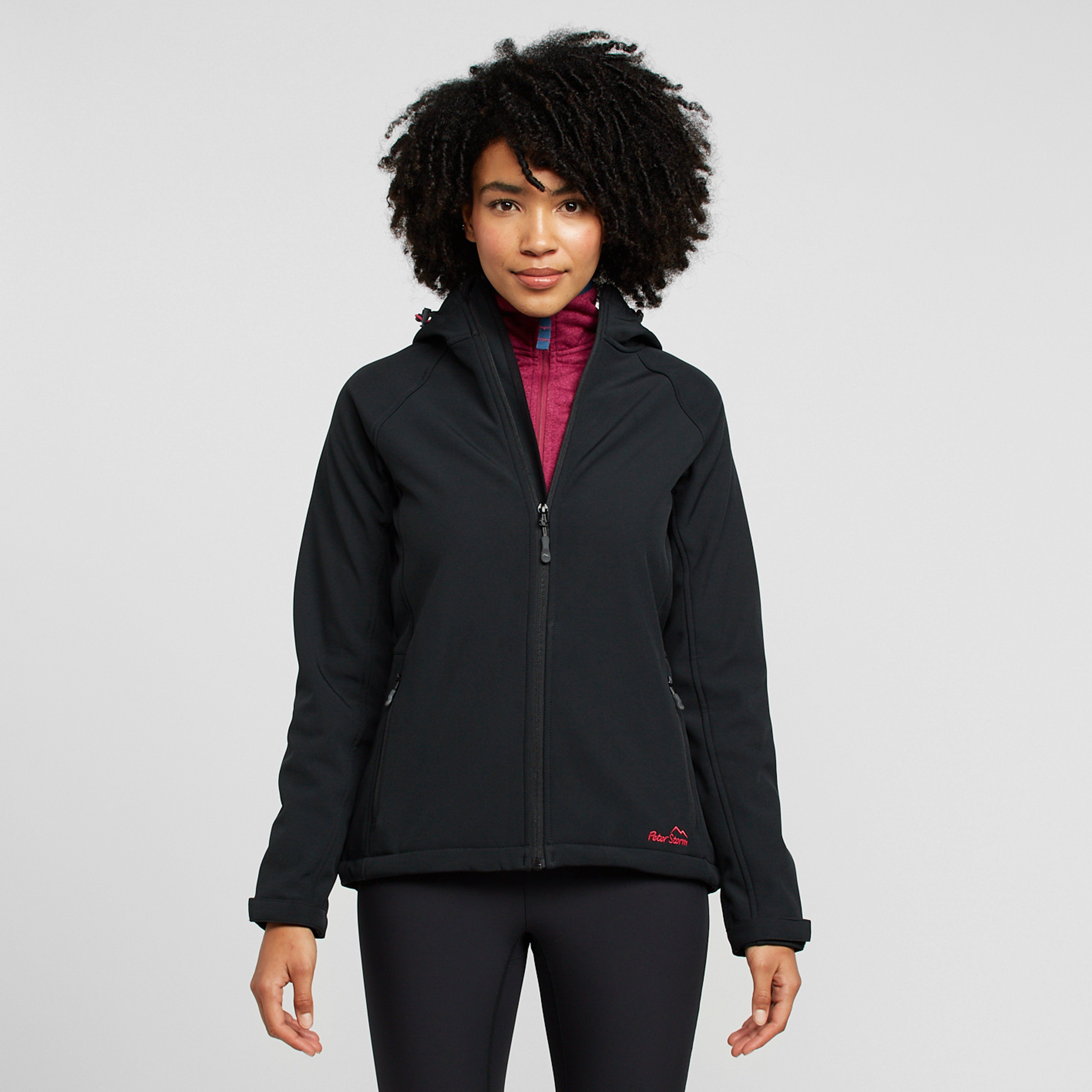 PETER STORM Women's Hooded Softshell Jacket