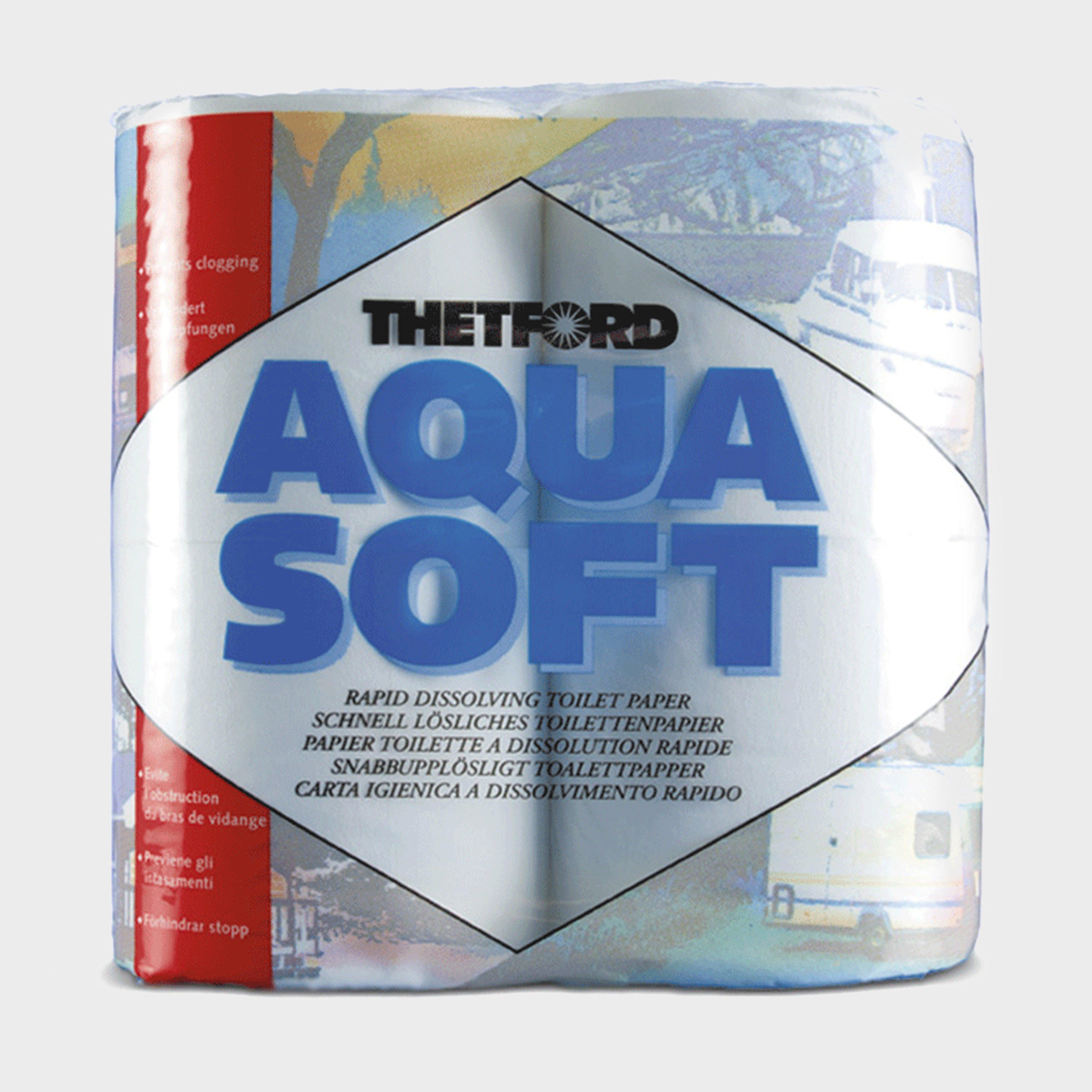 Thetford Aqua Soft Camping Toilet Paper - White/paper  White/paper