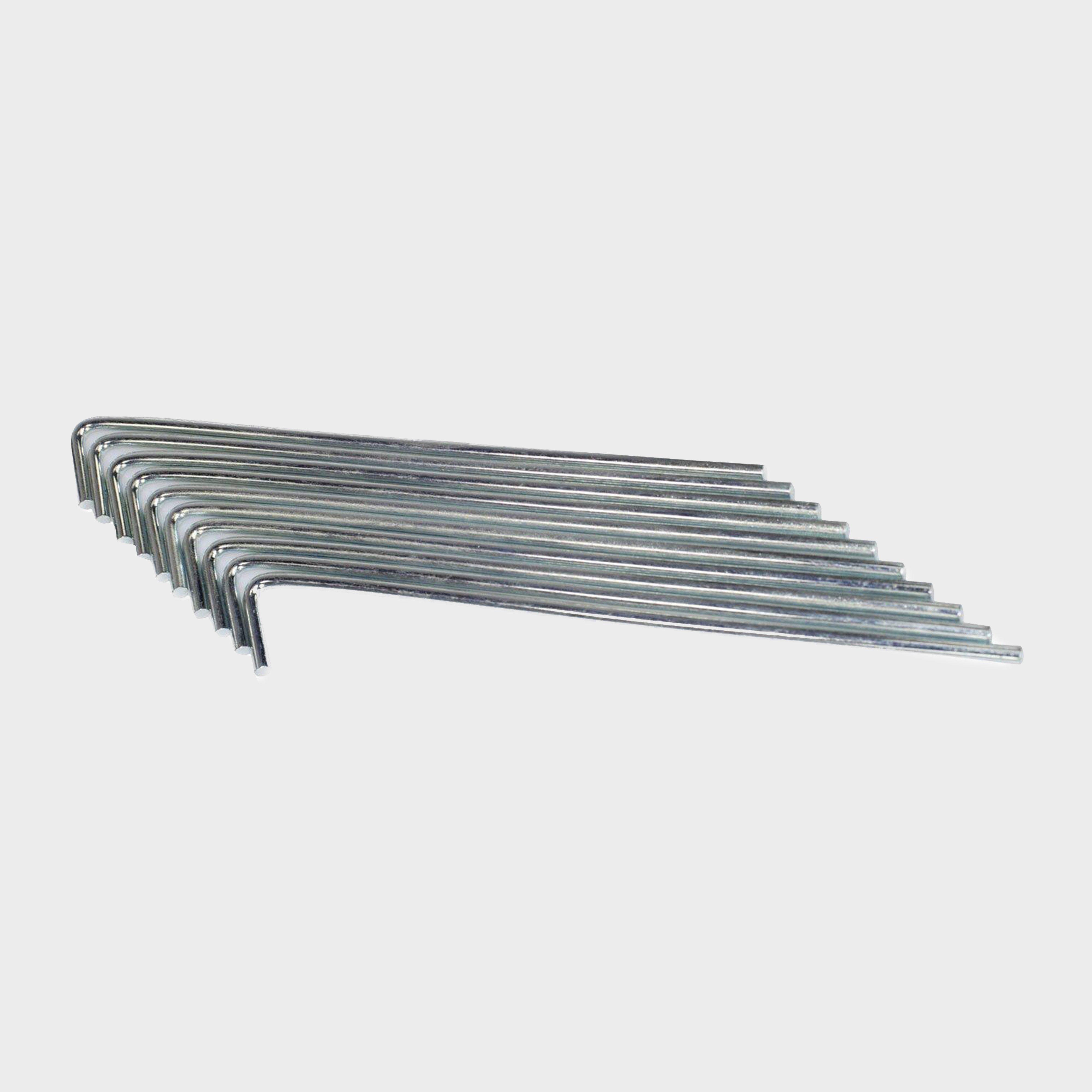Hi-gear Roundwire Peg 10pk - Grey/[9in]  Grey/[9in]
