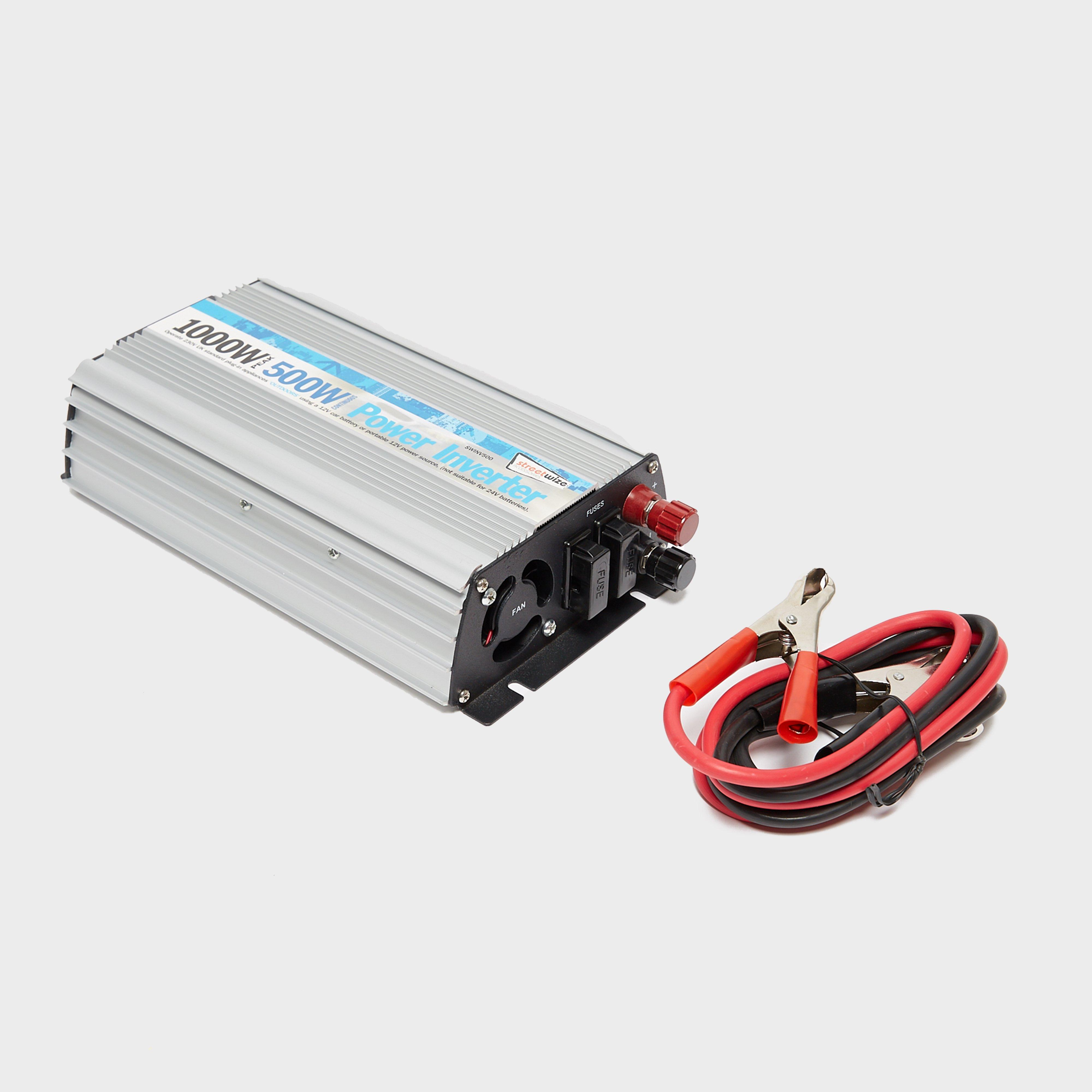 Streetwize 500w Inverter - Silver/inverter  Silver/inverter