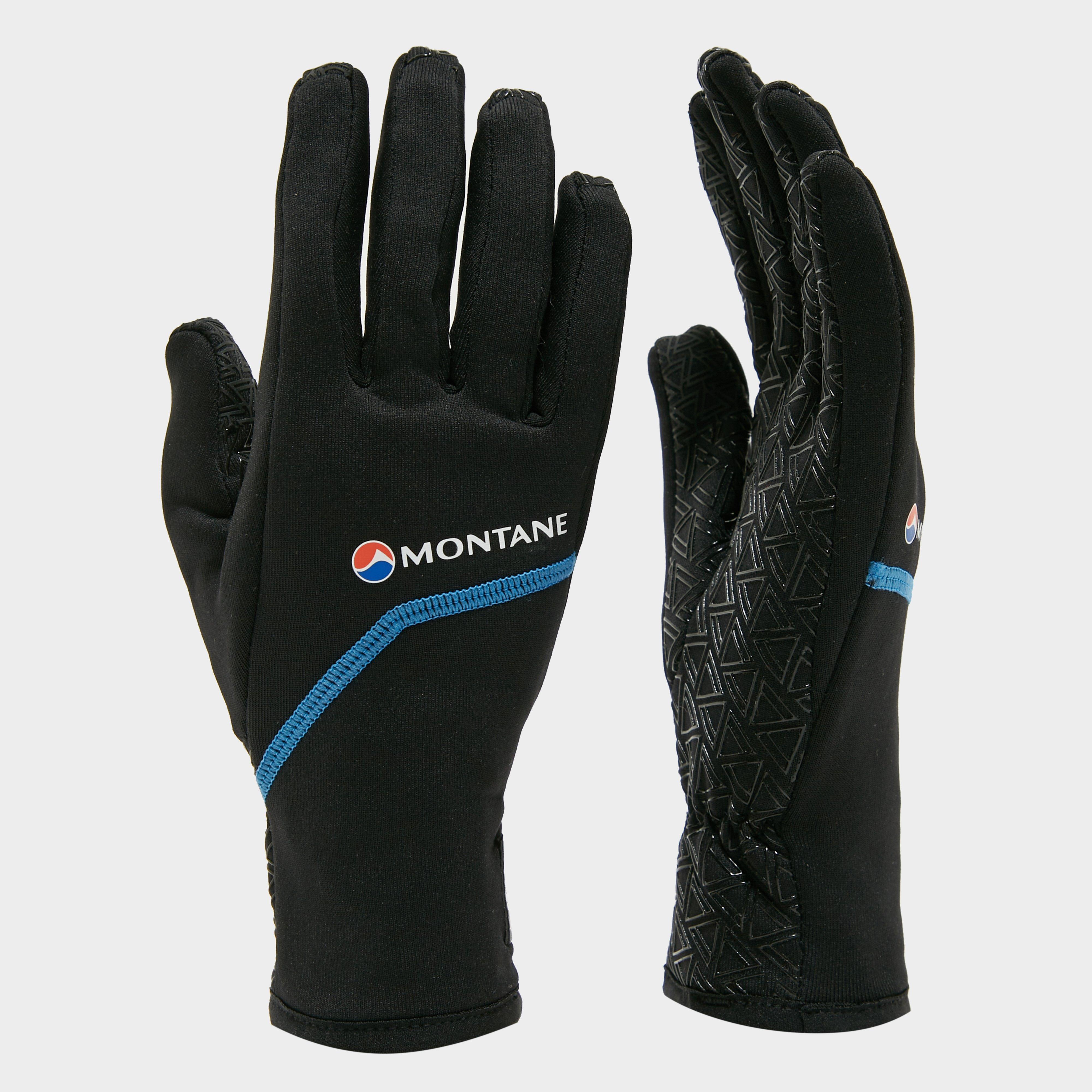Montane Power Stretch Pro Grippy Gloves - Black/grippy  Black/grippy