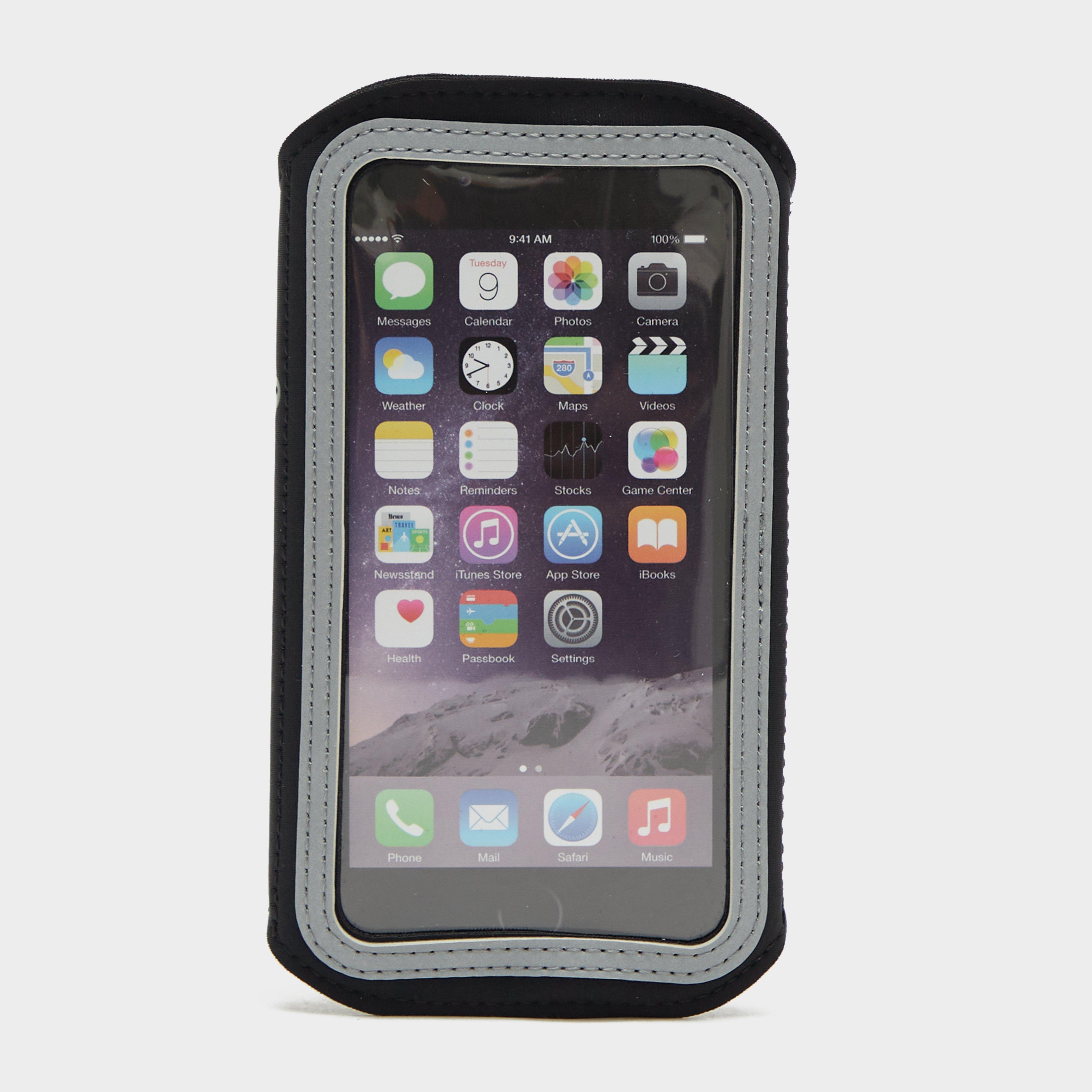 Scosche SoundKase Sport Armband, Black/White