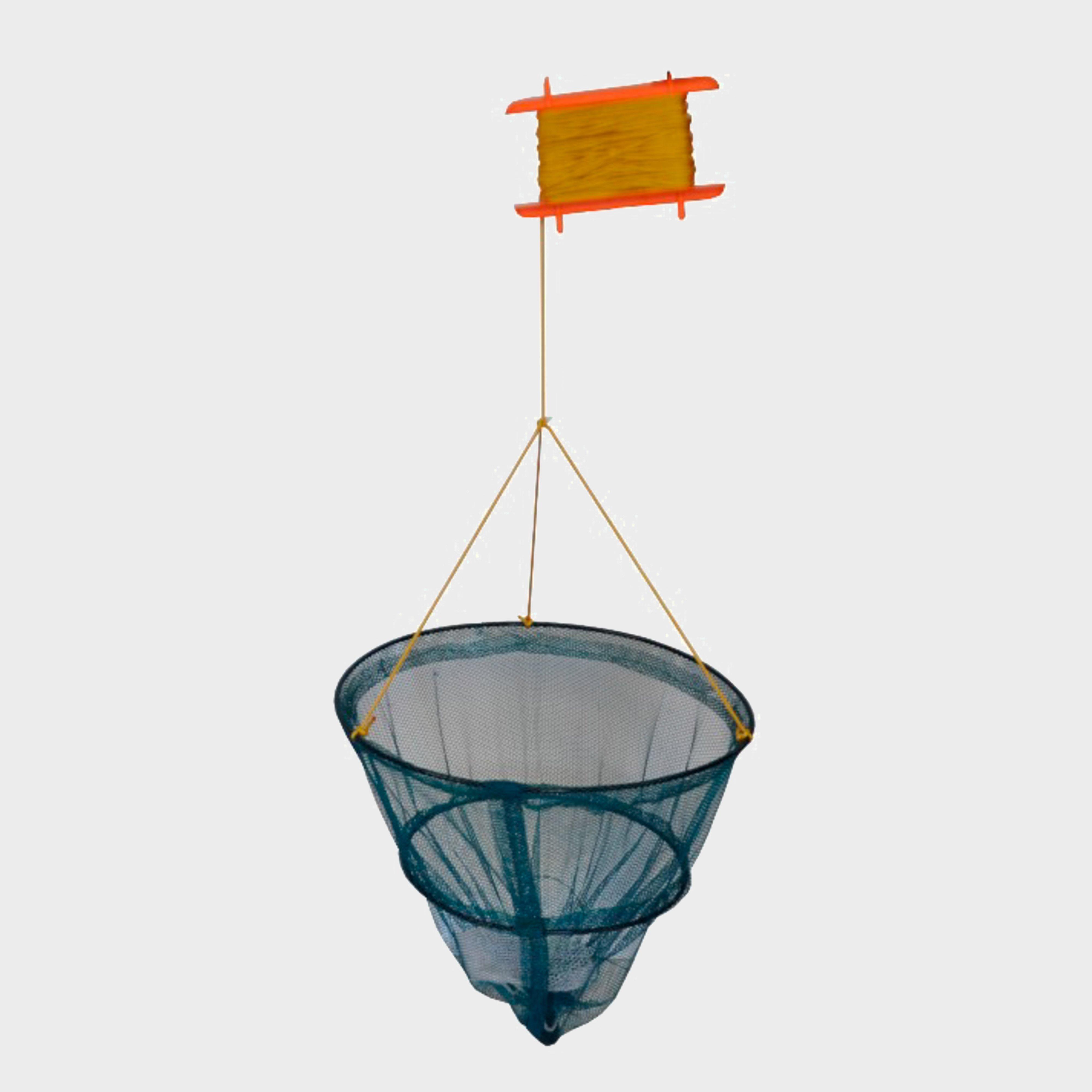 Bluezone Crab Net 29cm  2 Tier - Blue/rou  Blue/rou