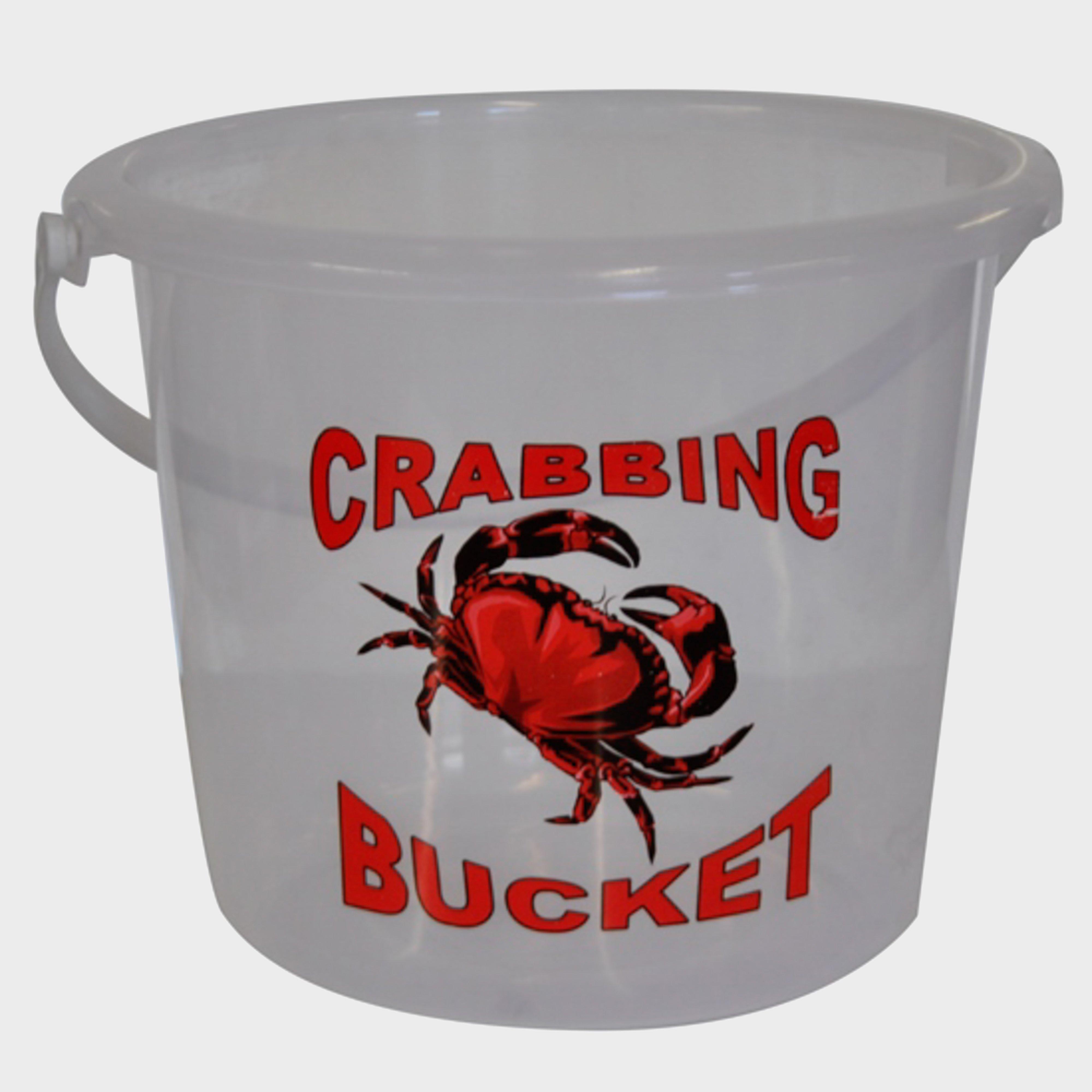 Bluezone 5 Litre Clear Crab - Bucket/bucket  Bucket/bucket