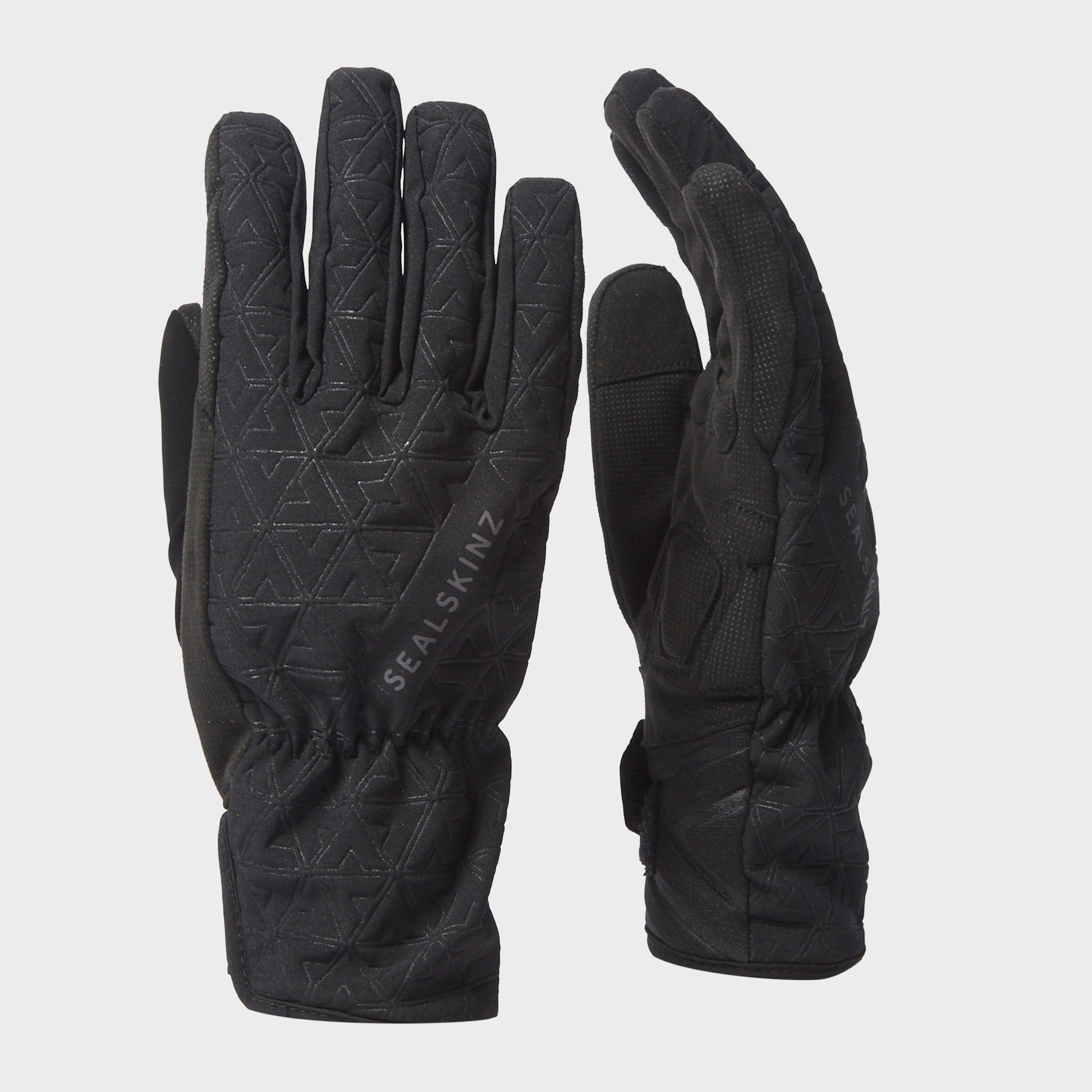 Sealskinz Women's All Weather Cycle XP Gloves, Black/Grey